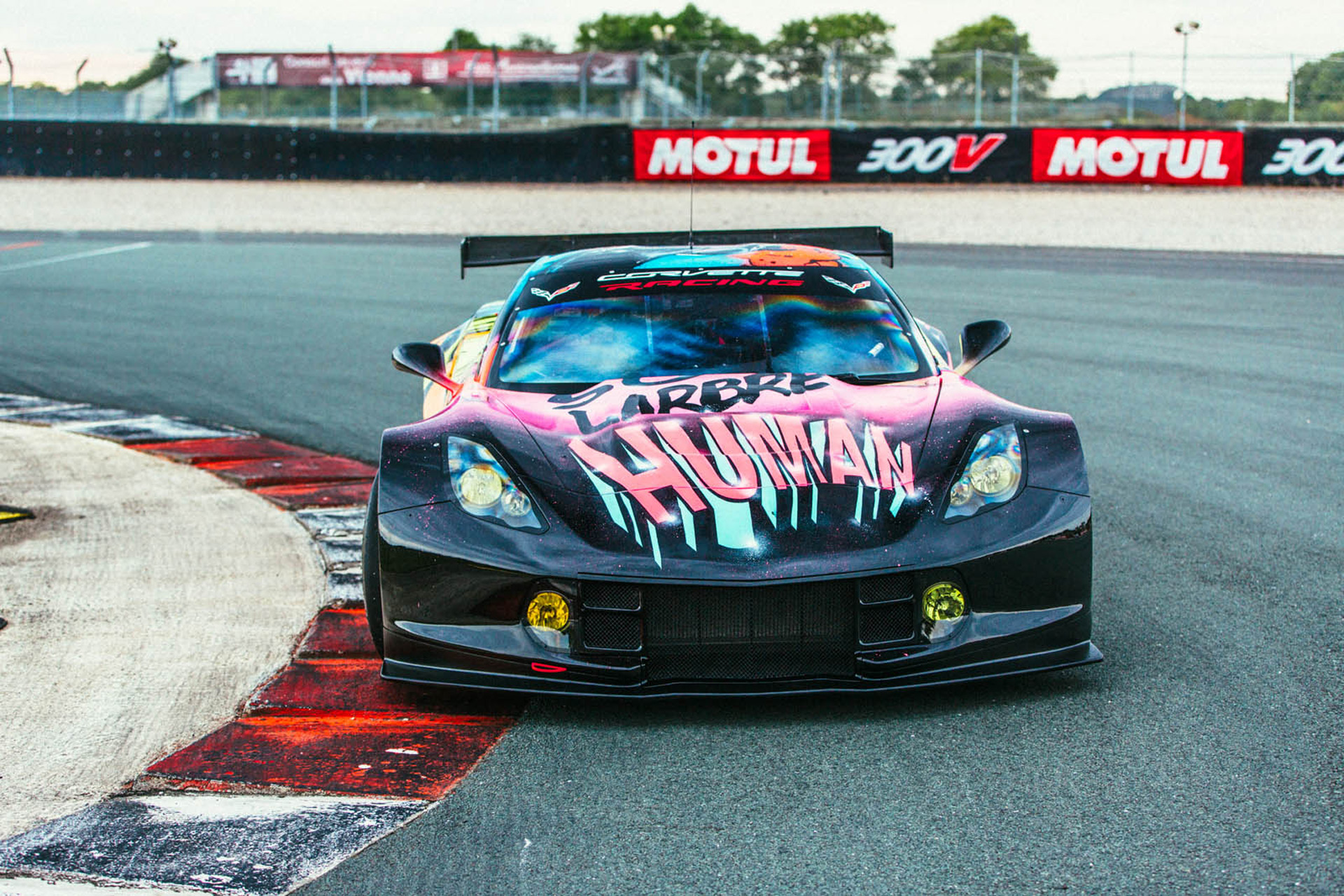 Superbe French Team To Race Wild Corvette C7.R Art Car In 24 Hours Of Le Mans