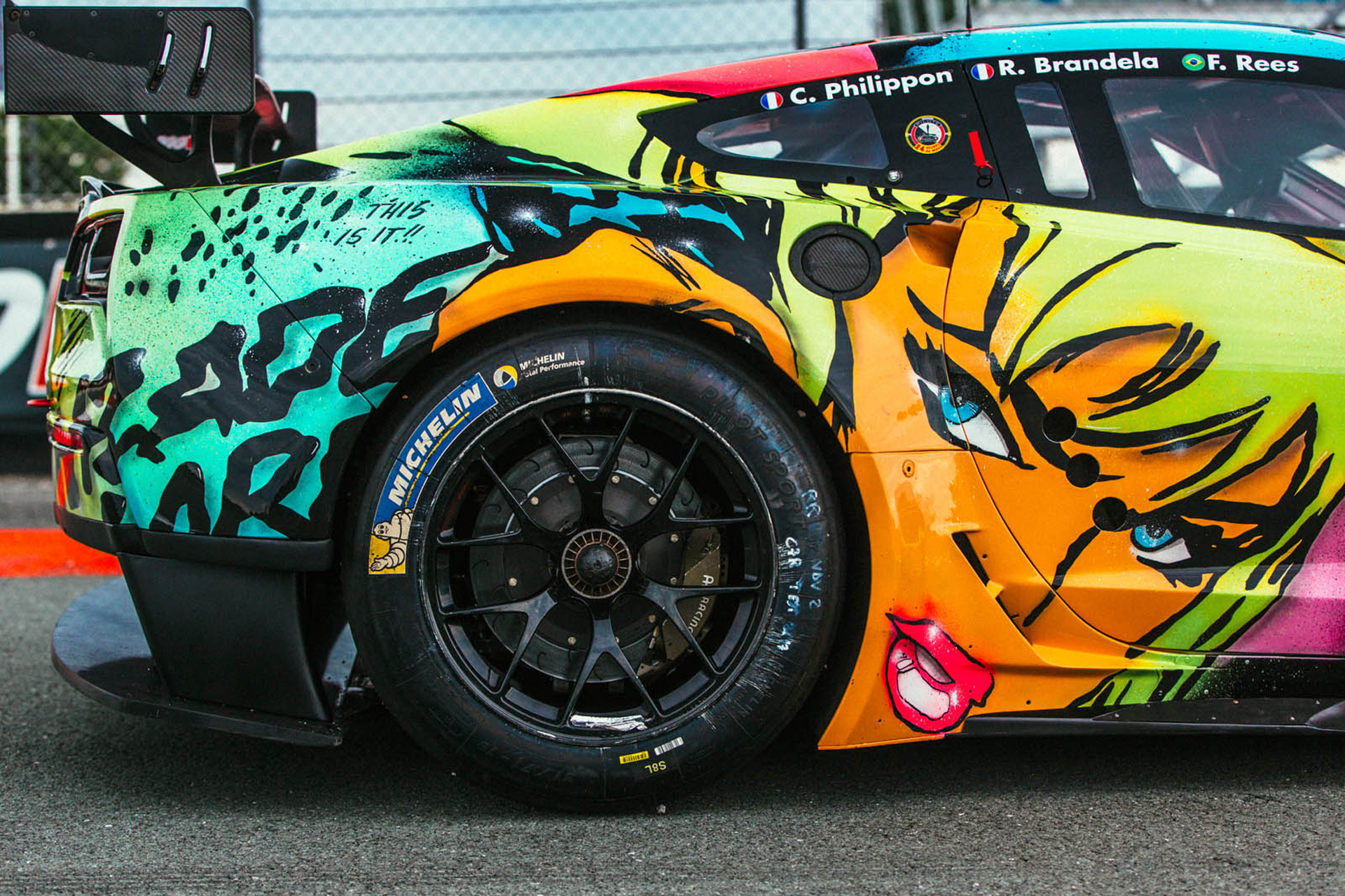 French Team To Race Wild Corvette C7 R Art Car In 24 Hours