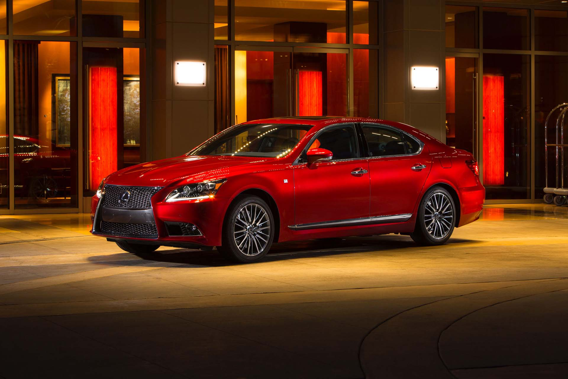 2017 lexus ls 460 review ratings specs prices and photos the car connection. Black Bedroom Furniture Sets. Home Design Ideas