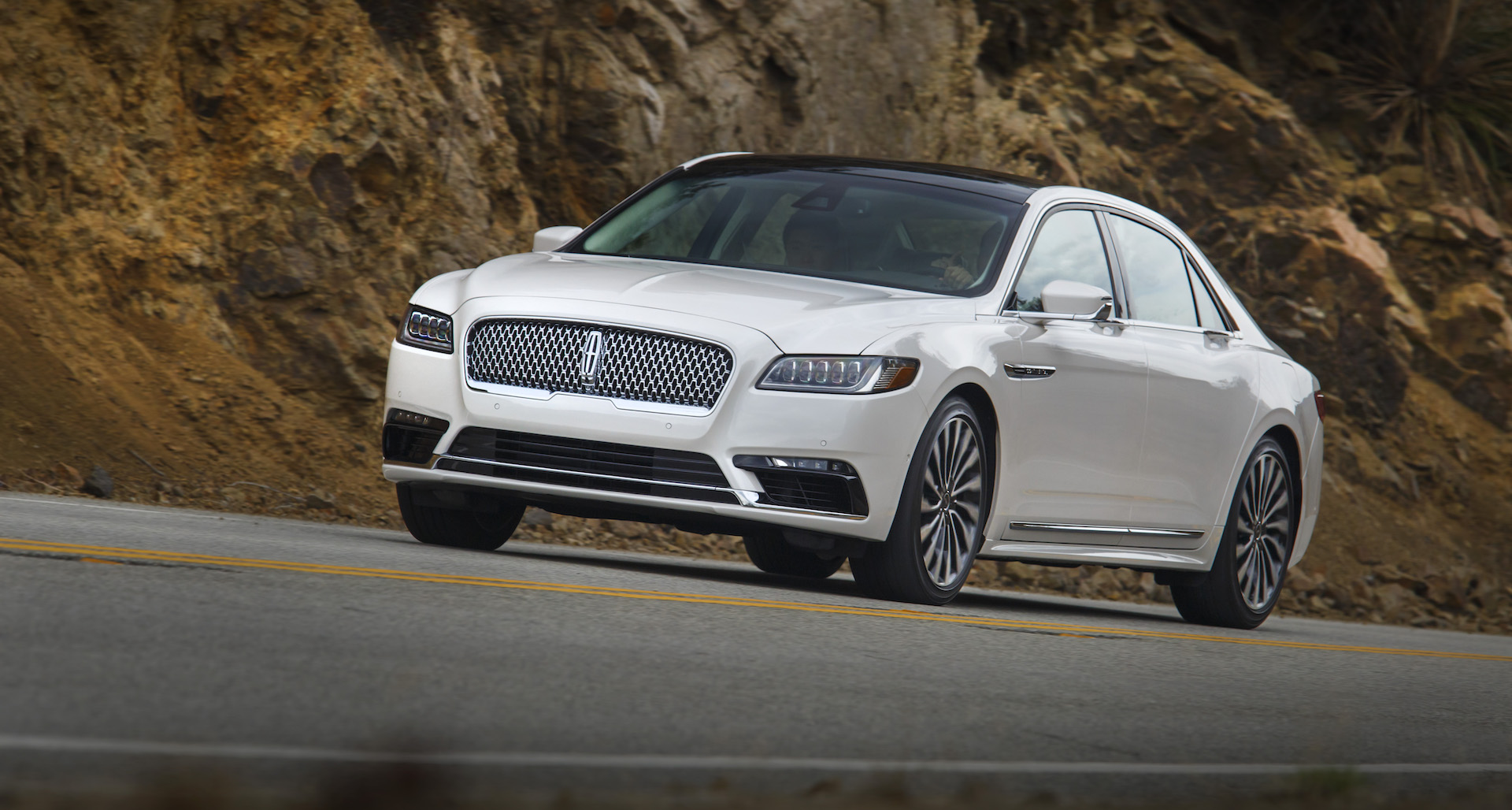2017 lincoln continental styling review the car connection. Black Bedroom Furniture Sets. Home Design Ideas