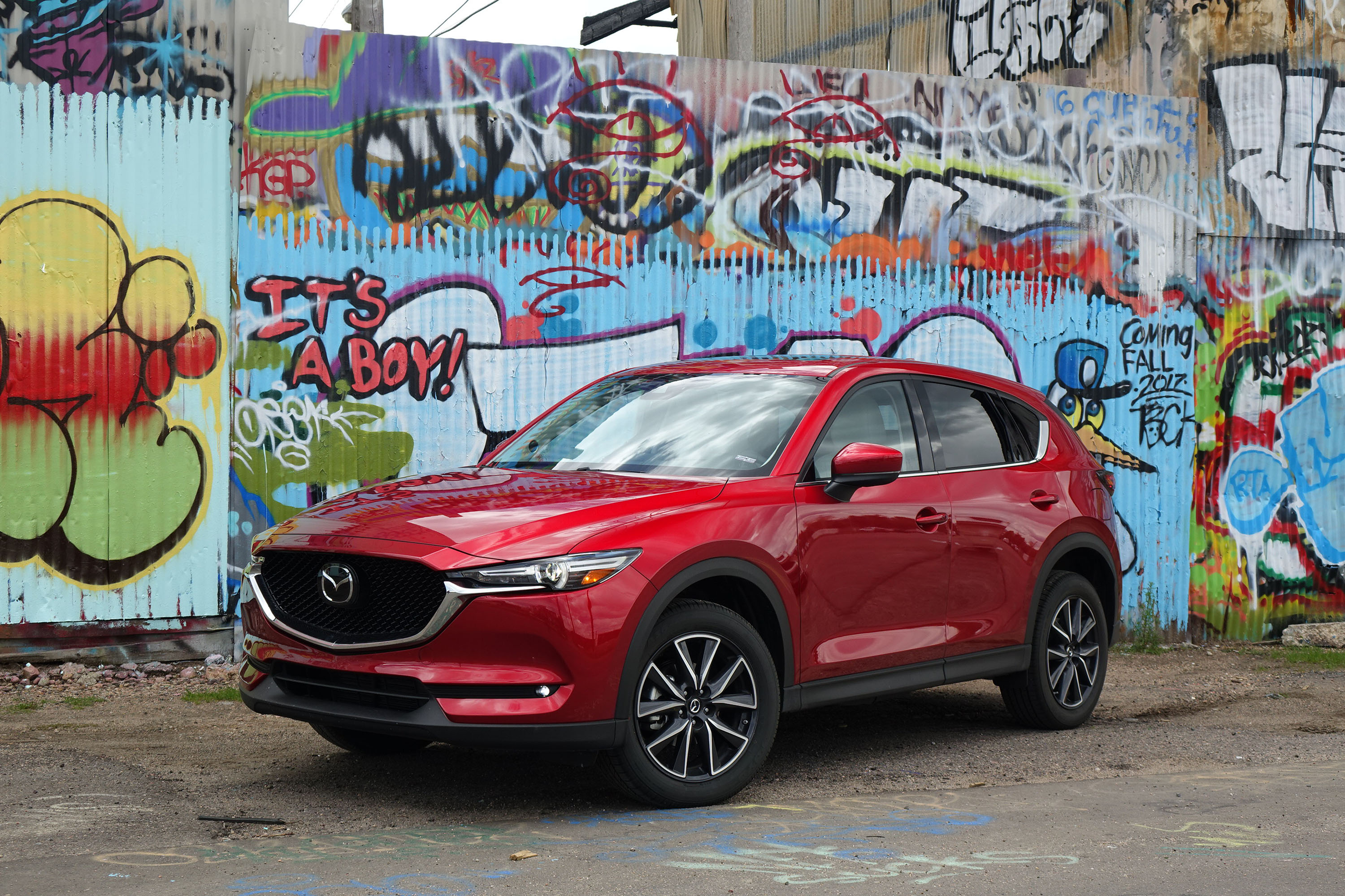 2017 mazda cx 5 grand touring first drive. Black Bedroom Furniture Sets. Home Design Ideas