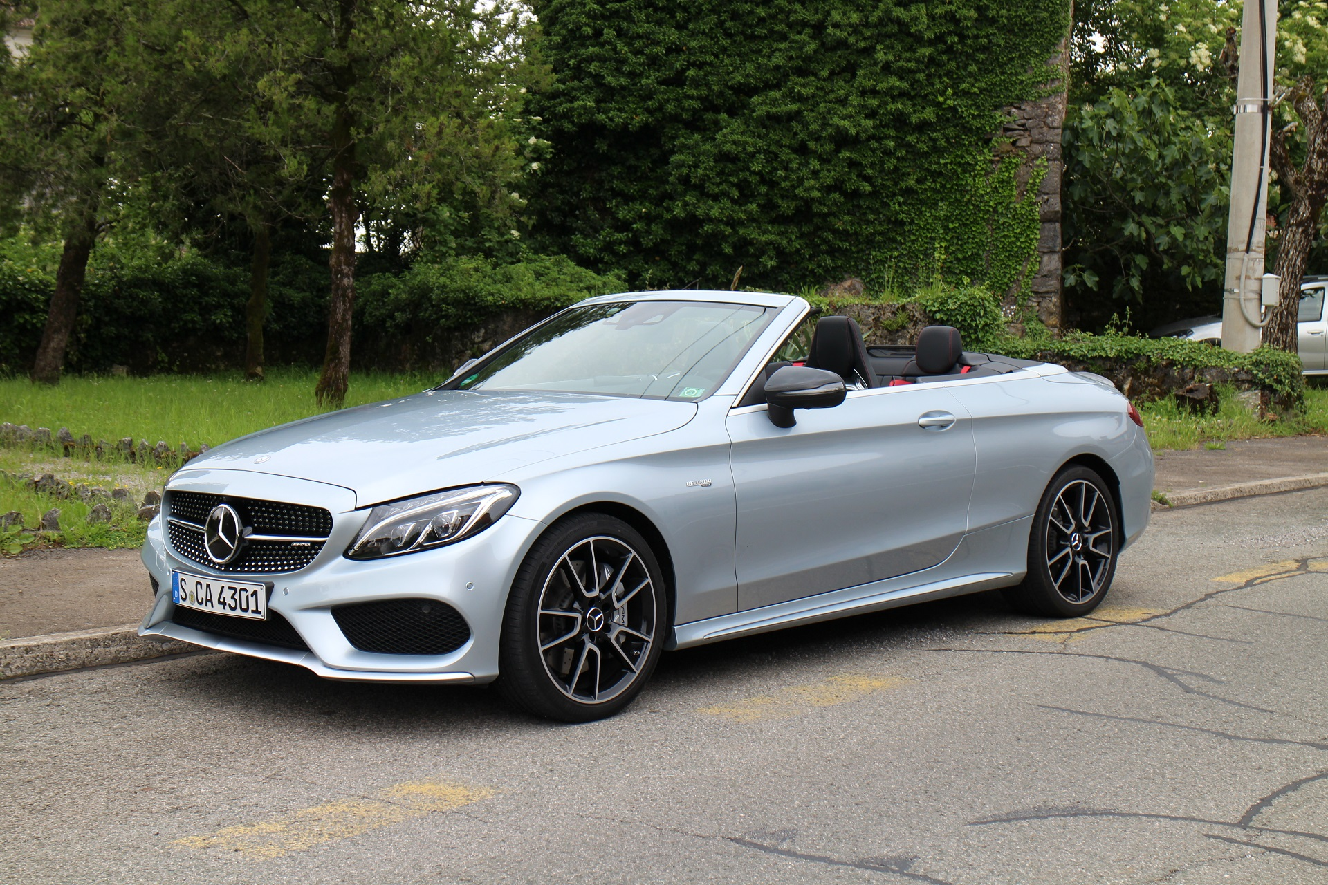 2017 Mercedes Benz C Class Cabriolet First Drive Review