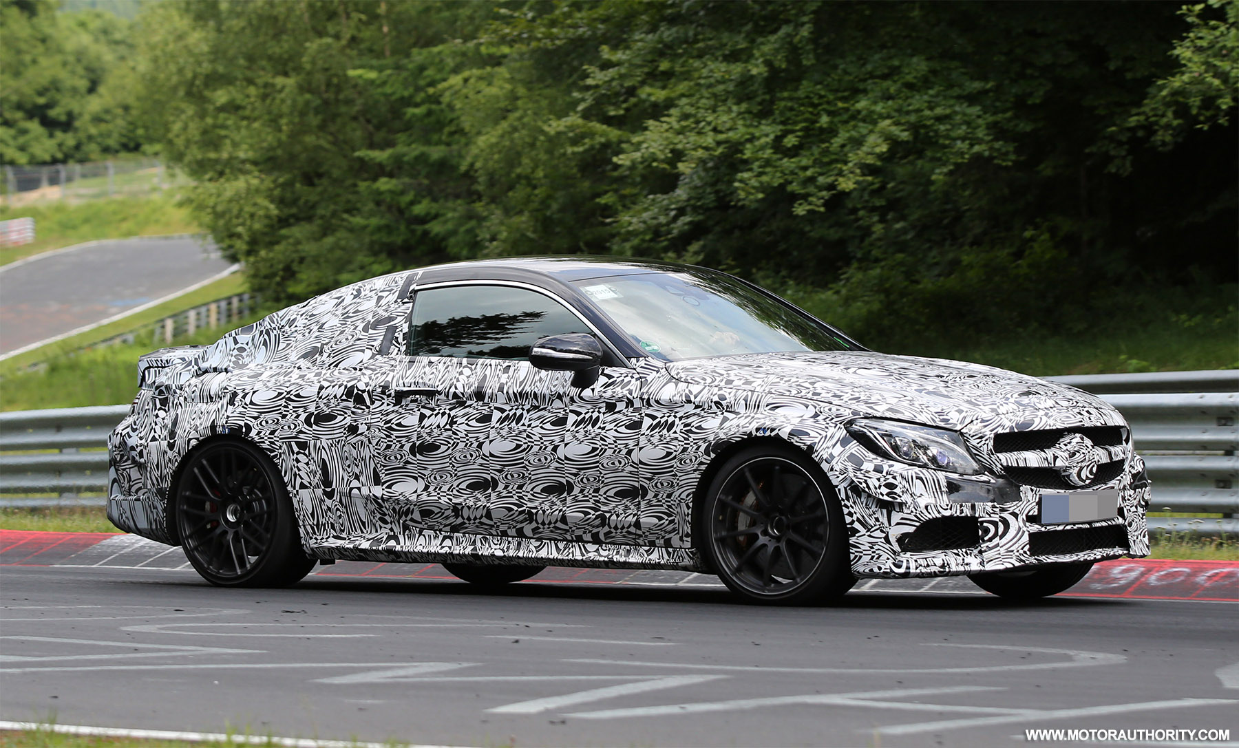 2017 mercedes amg c63 coupe spy shots and video for Mercedes benz net worth 2017