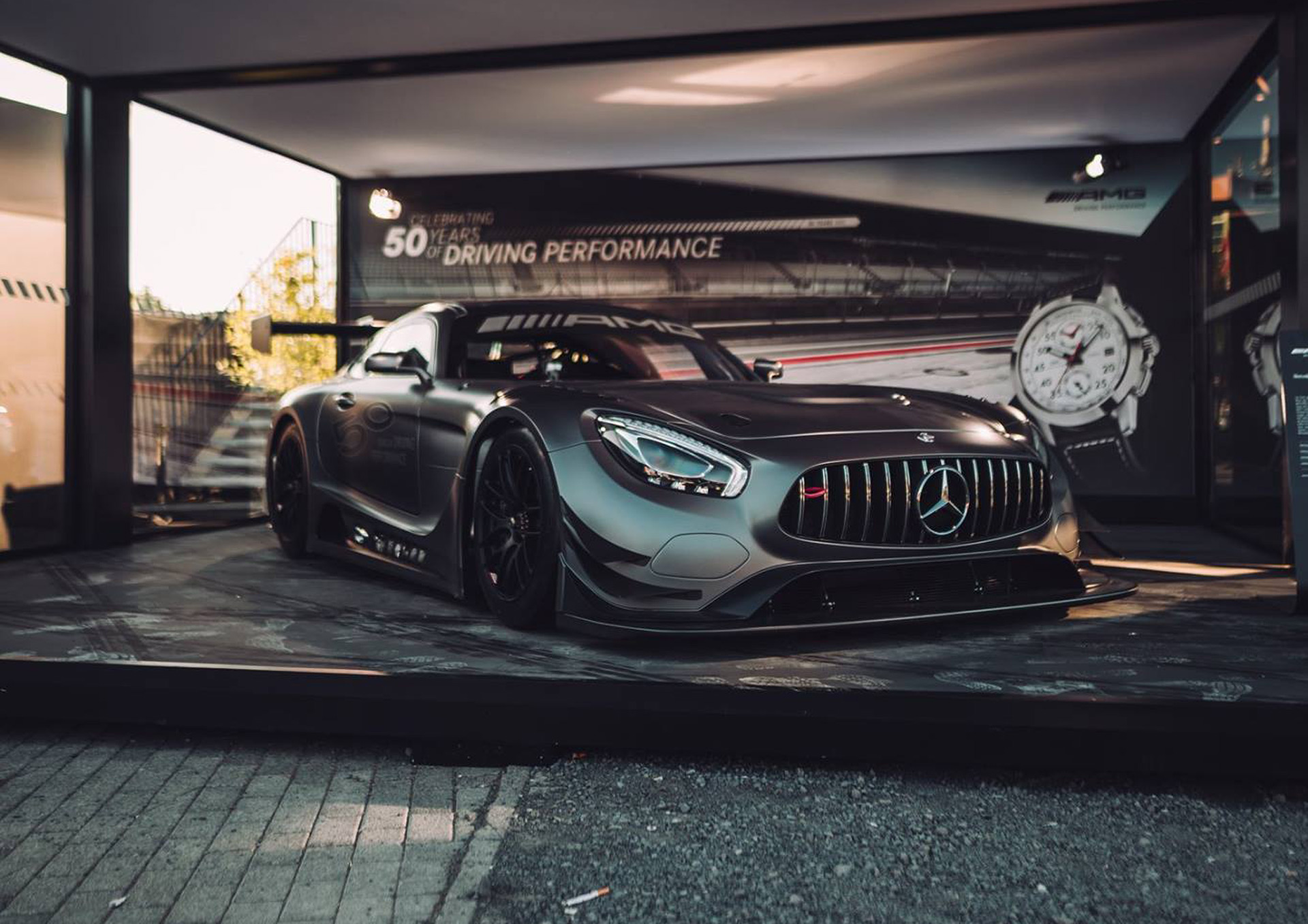 2017 Mercedes Amg Gt3 Edition 50 Debuts Limited To 5 Cars