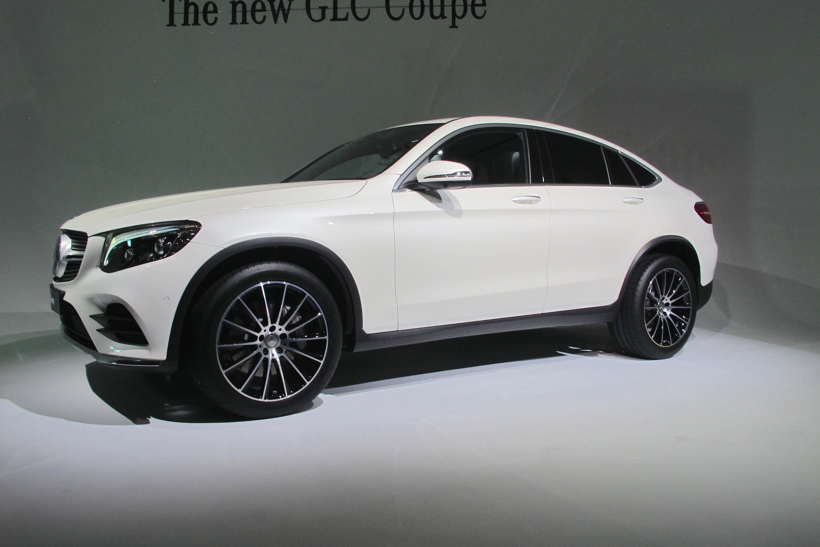 2017 Mercedes-Benz GLC Coupe And GLC43 Preview