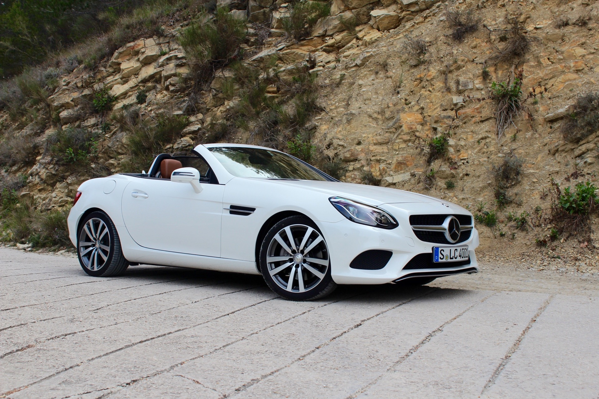 2017 mercedes benz slc first drive review for Mercedes benz new cars 2017