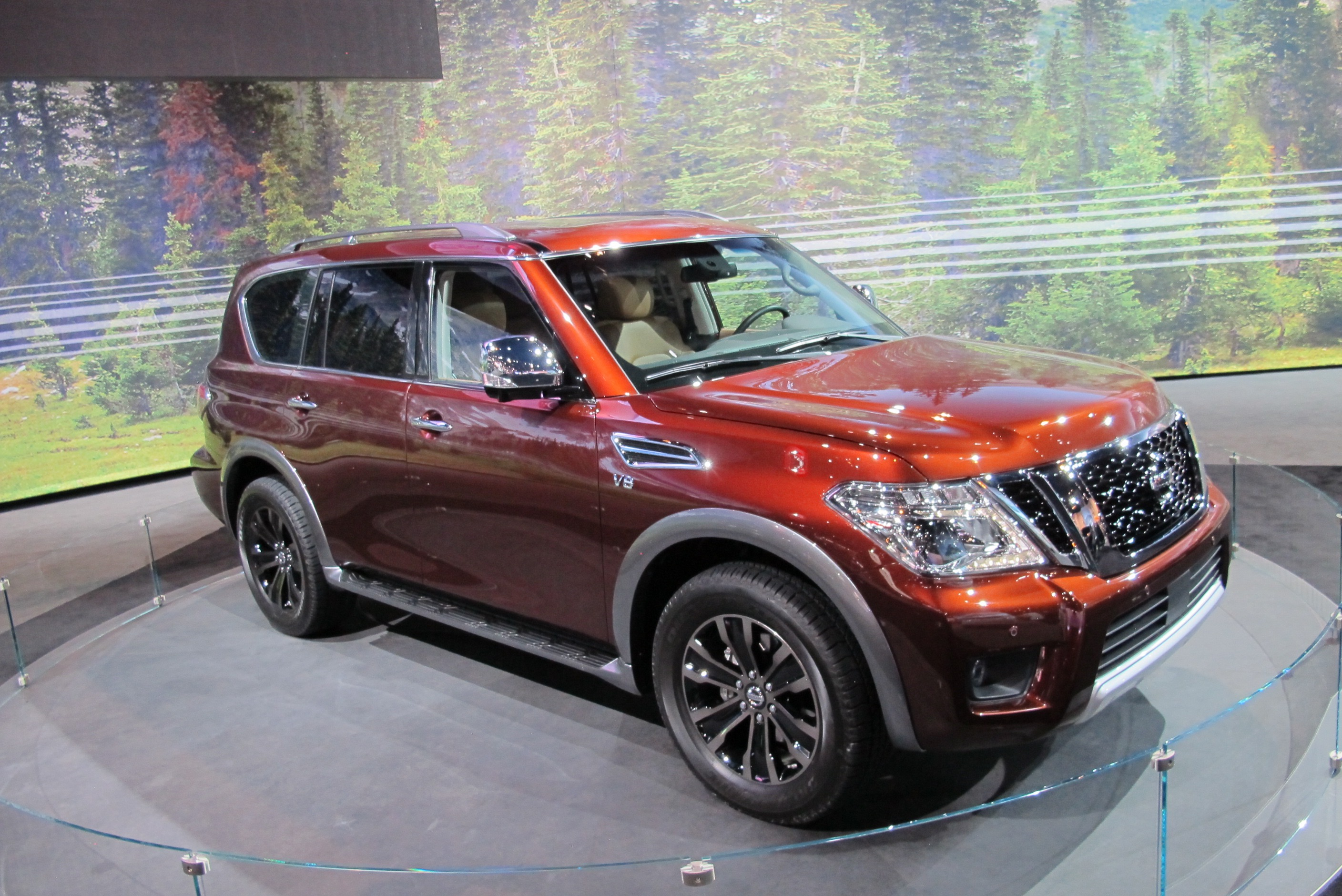 2017 nissan armada returns as rebadged patrol. Black Bedroom Furniture Sets. Home Design Ideas