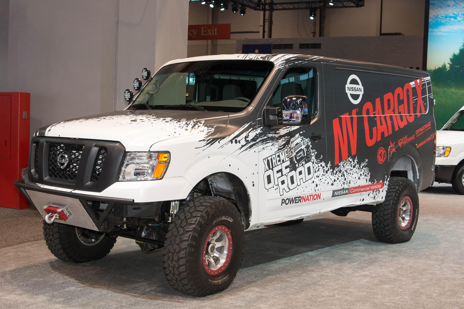 Nissan created an NV cargo van you actually want