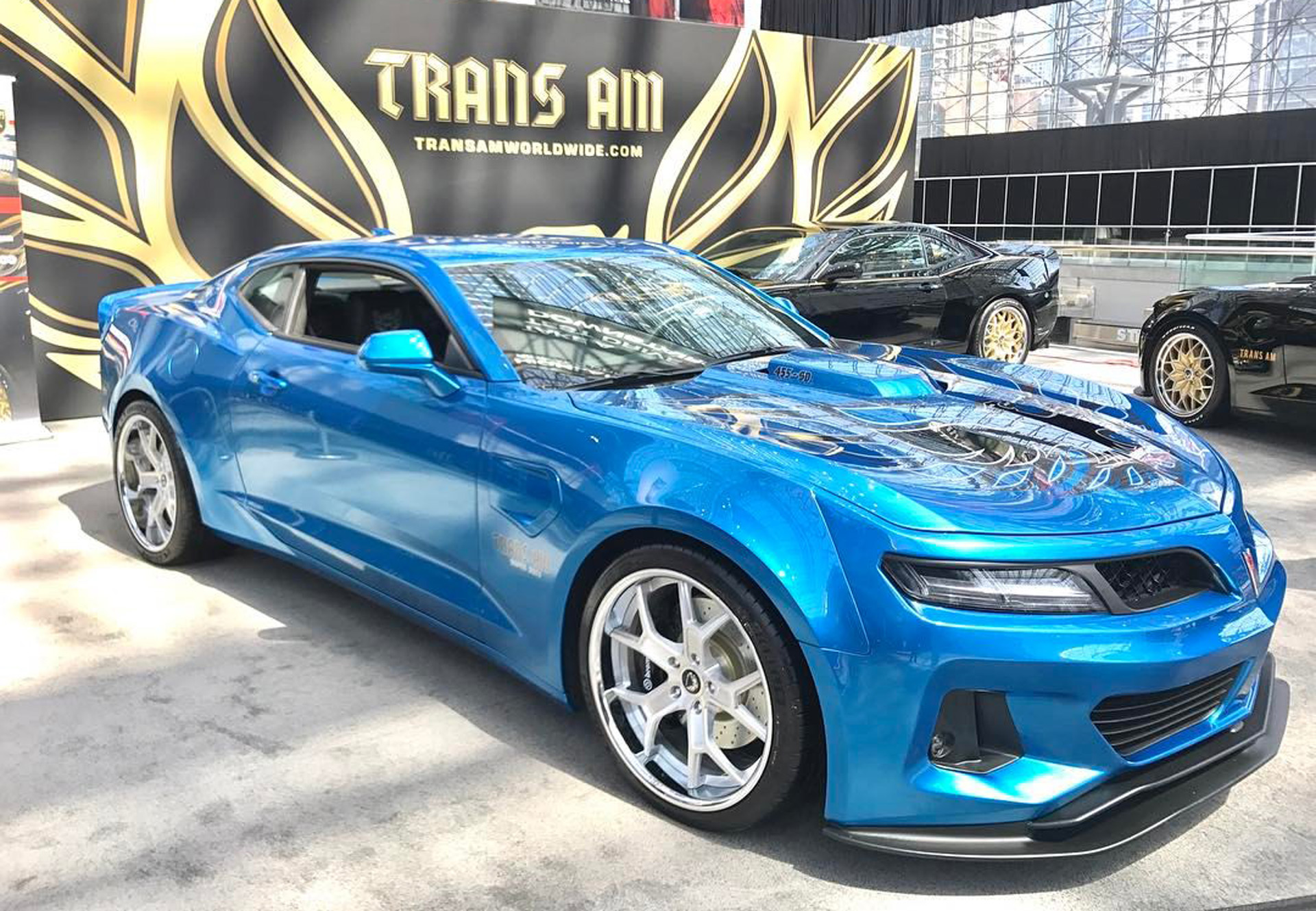 6th gen camaro trans am conversion comes packing 1 000. Black Bedroom Furniture Sets. Home Design Ideas