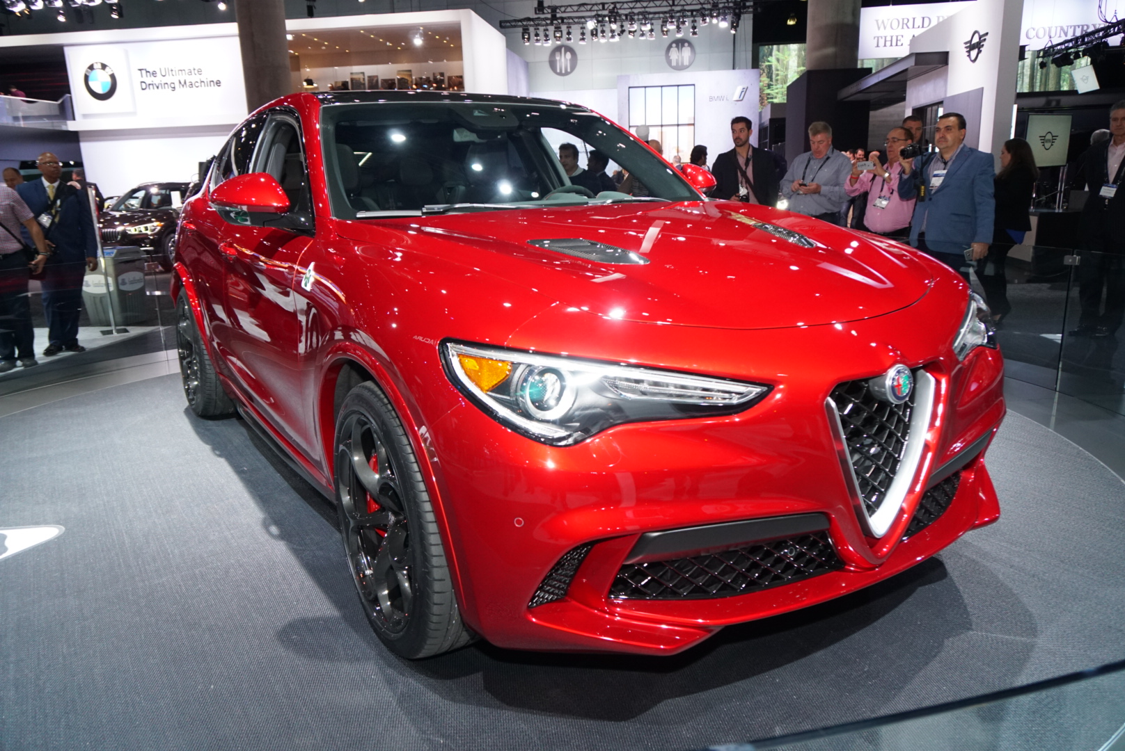 2018 alfa romeo stelvio review ratings specs prices and photos the car connection. Black Bedroom Furniture Sets. Home Design Ideas