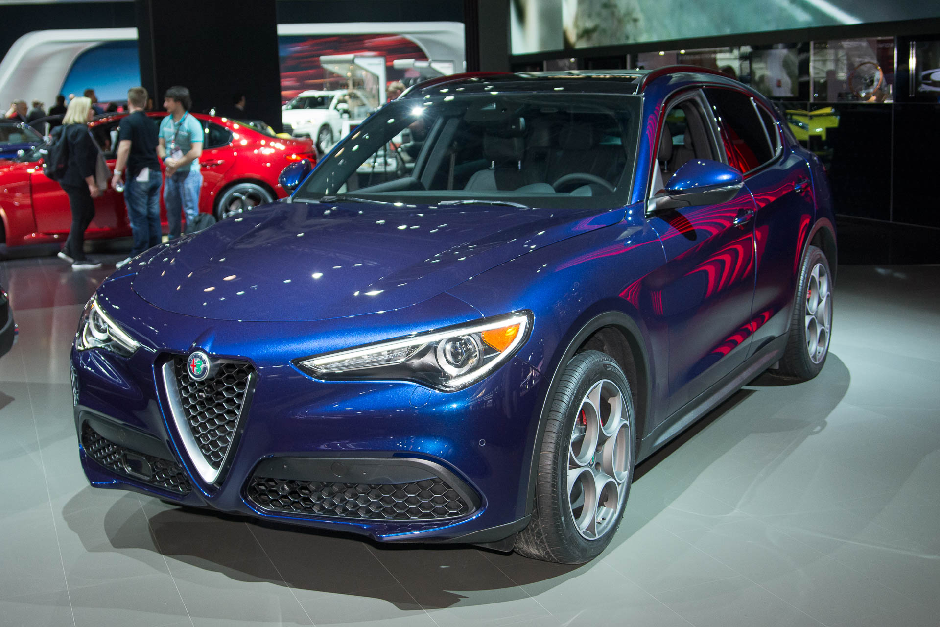 2018 alfa romeo stelvio preview. Black Bedroom Furniture Sets. Home Design Ideas