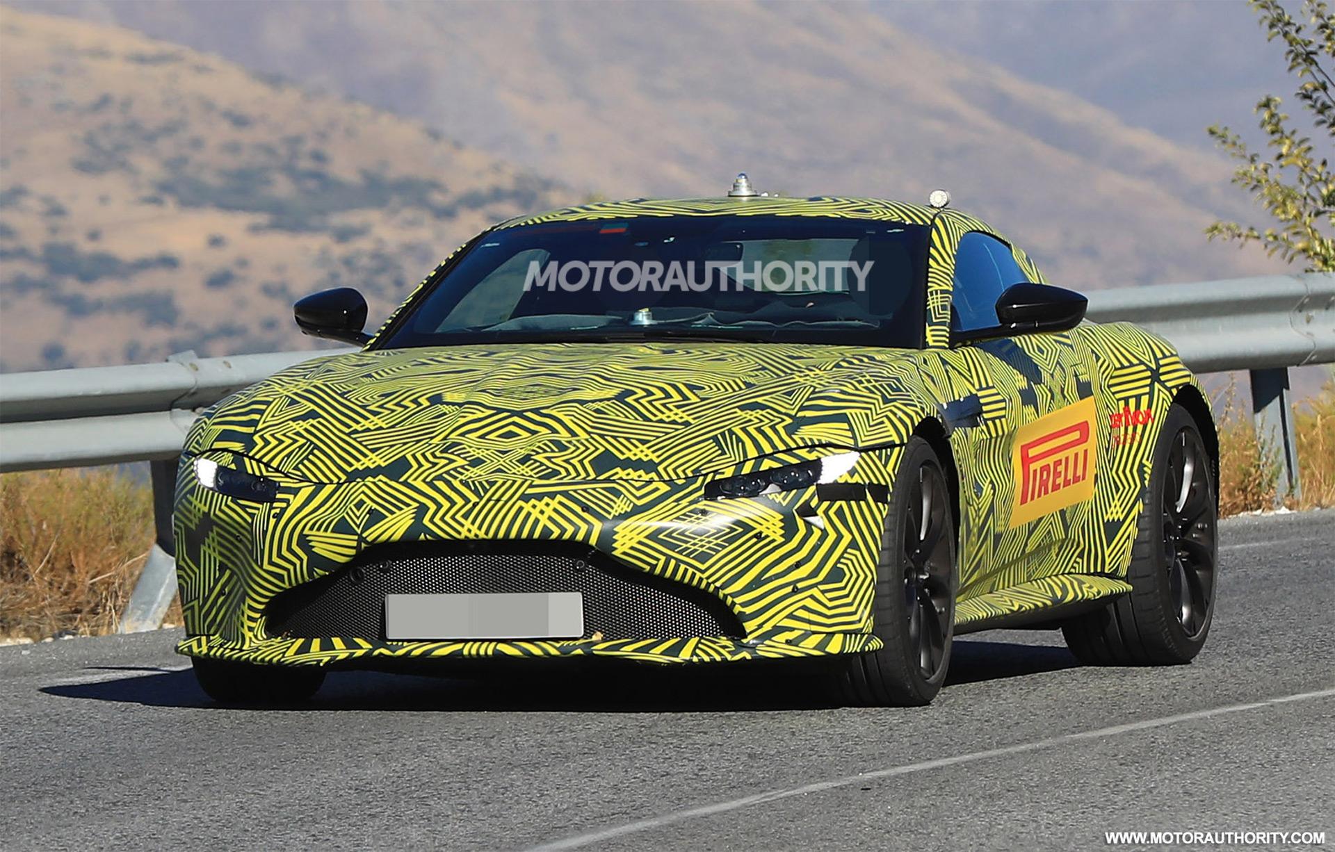 Bmw 3 2018 >> 2018 Aston Martin Vantage spy shots and video