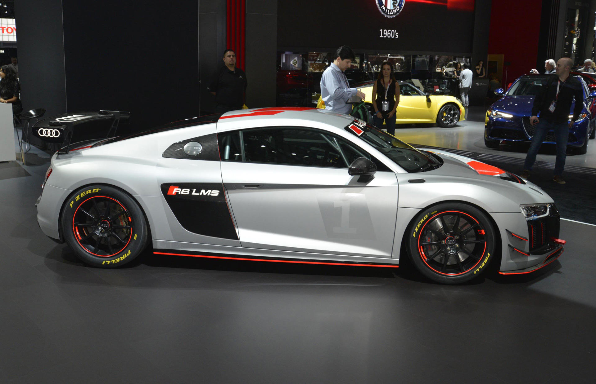 Audi adds a second R8 race car, the R8 LMS GT4
