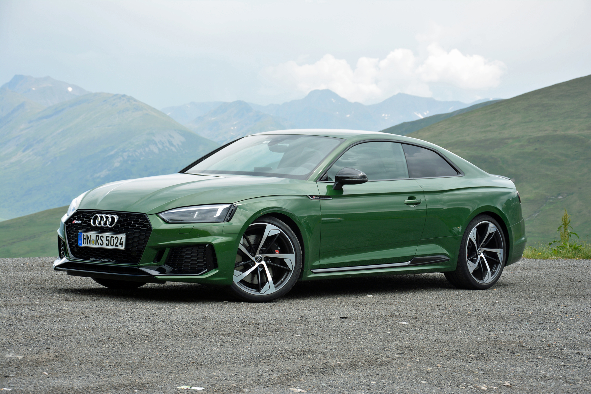 Audi RS First Drive Review Green With Mean News About Cool Cars - Green cool cars