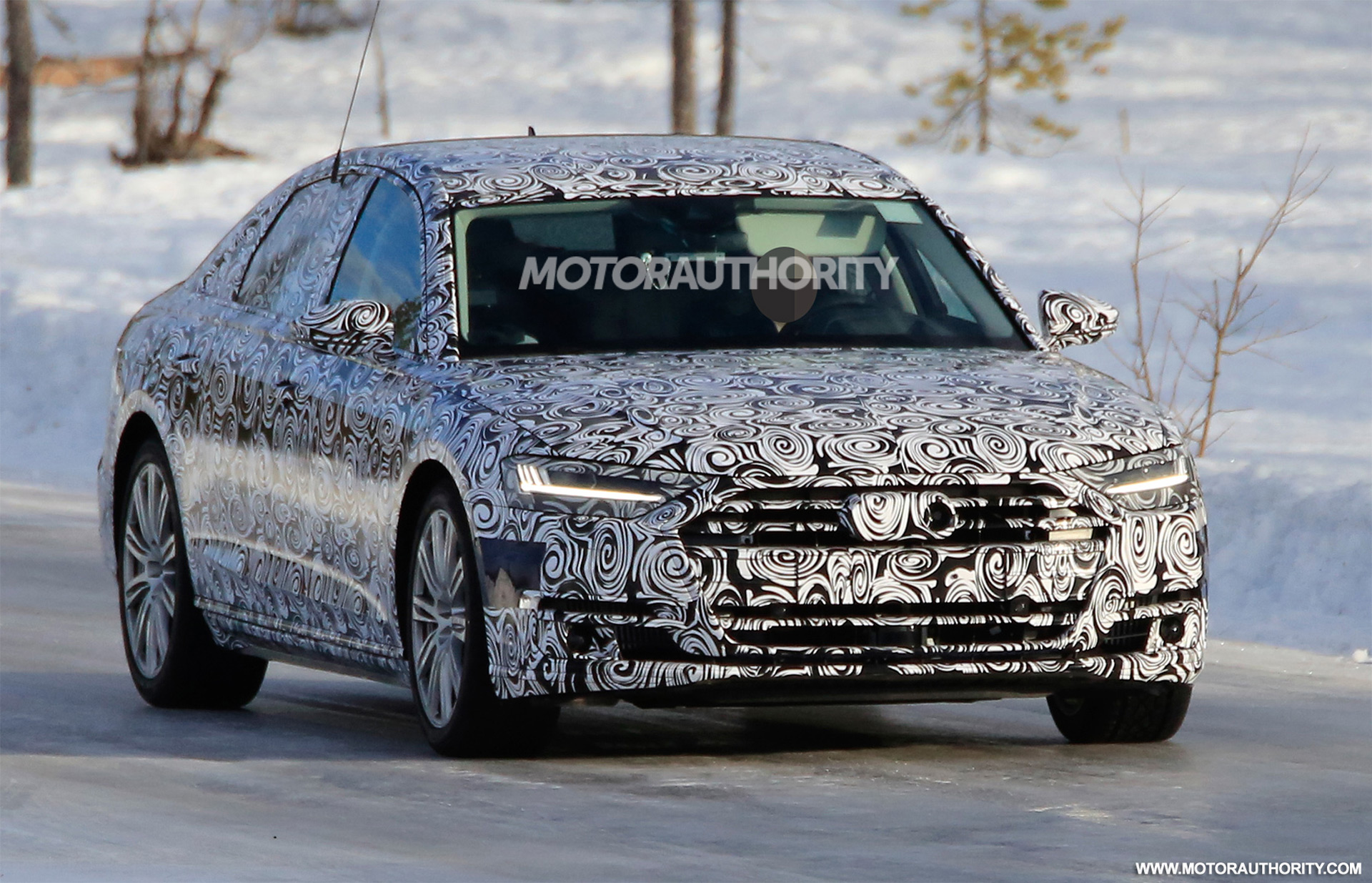 2019 Audi S8 Spy Shots And Video