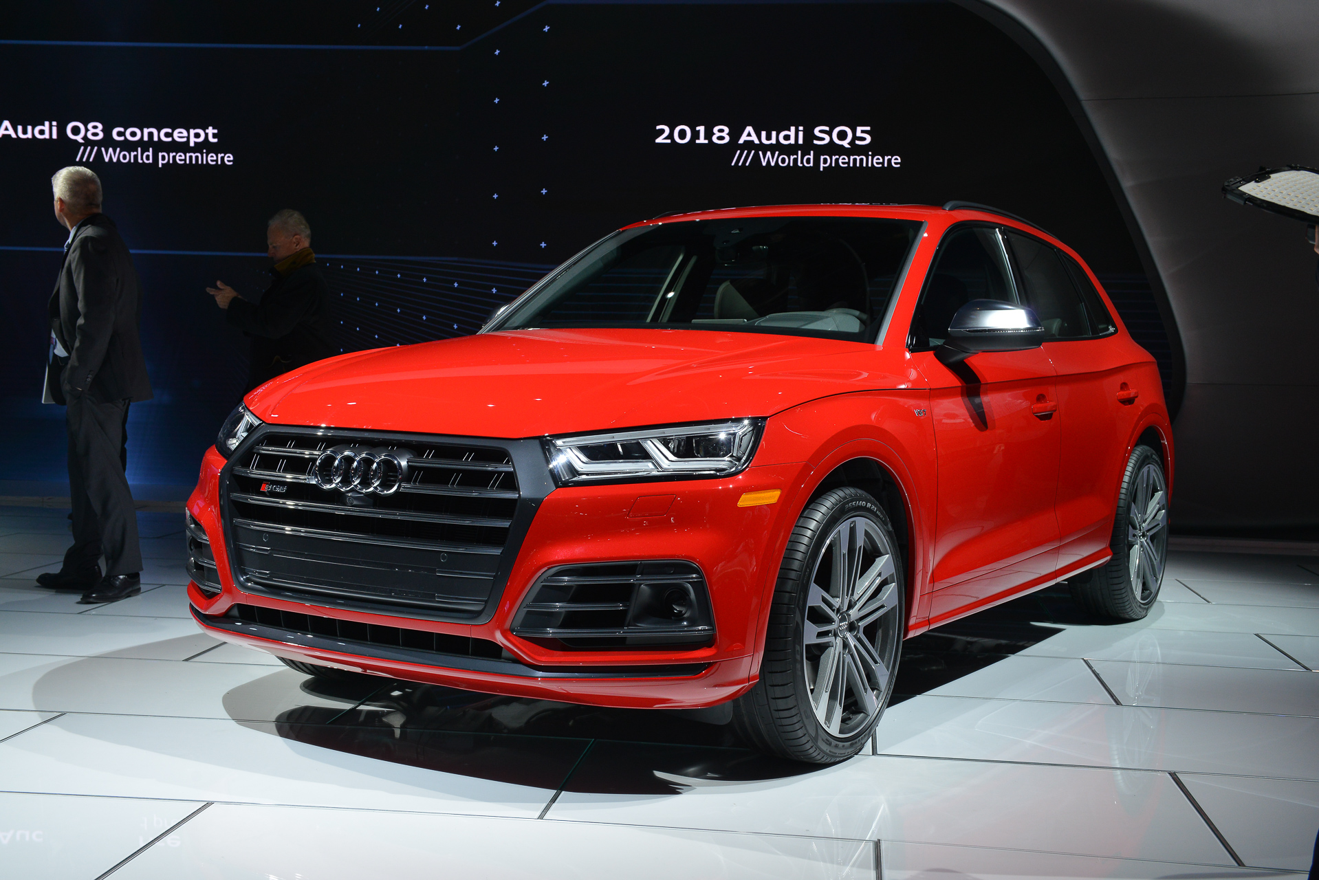 2018 Audi SQ5 debuts with 354 hp and 369 lb-ft