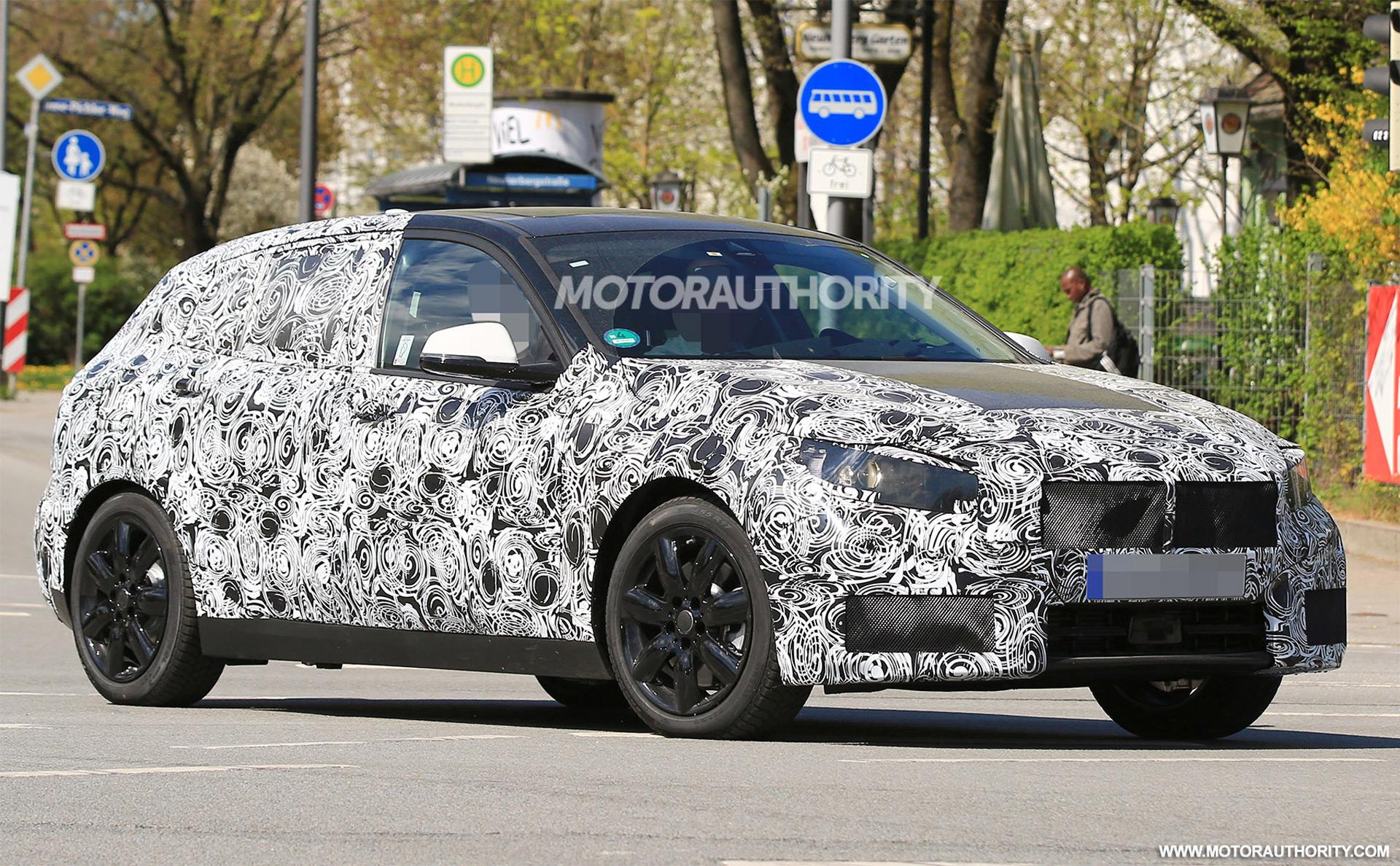 BMW Series Hatchback Spy Shots Autozaurus - Bmw 1 series hatchback