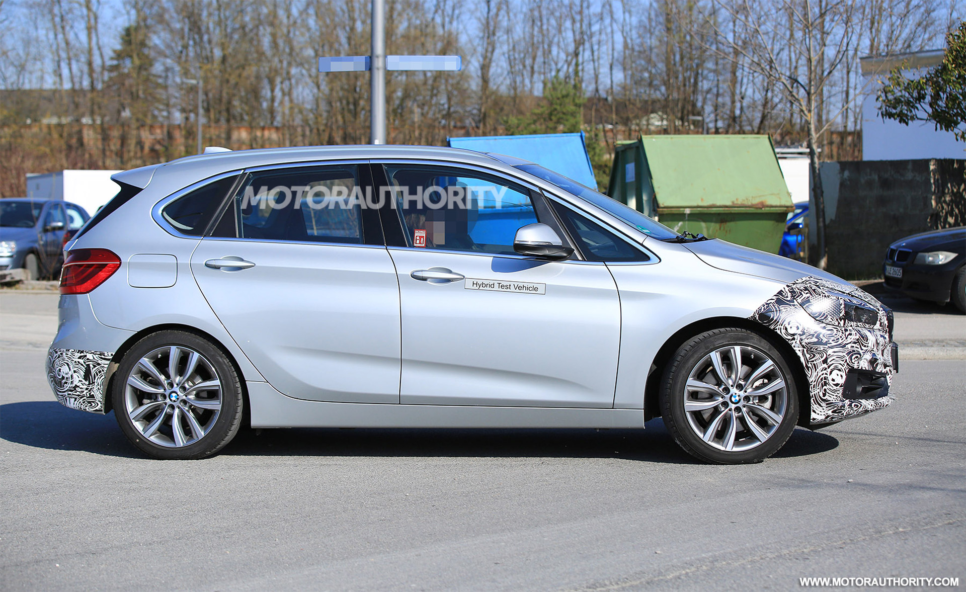 2018 bmw 2 series facelift. unique facelift 2018 bmw 2series active tourer spy shots intended bmw 2 series facelift