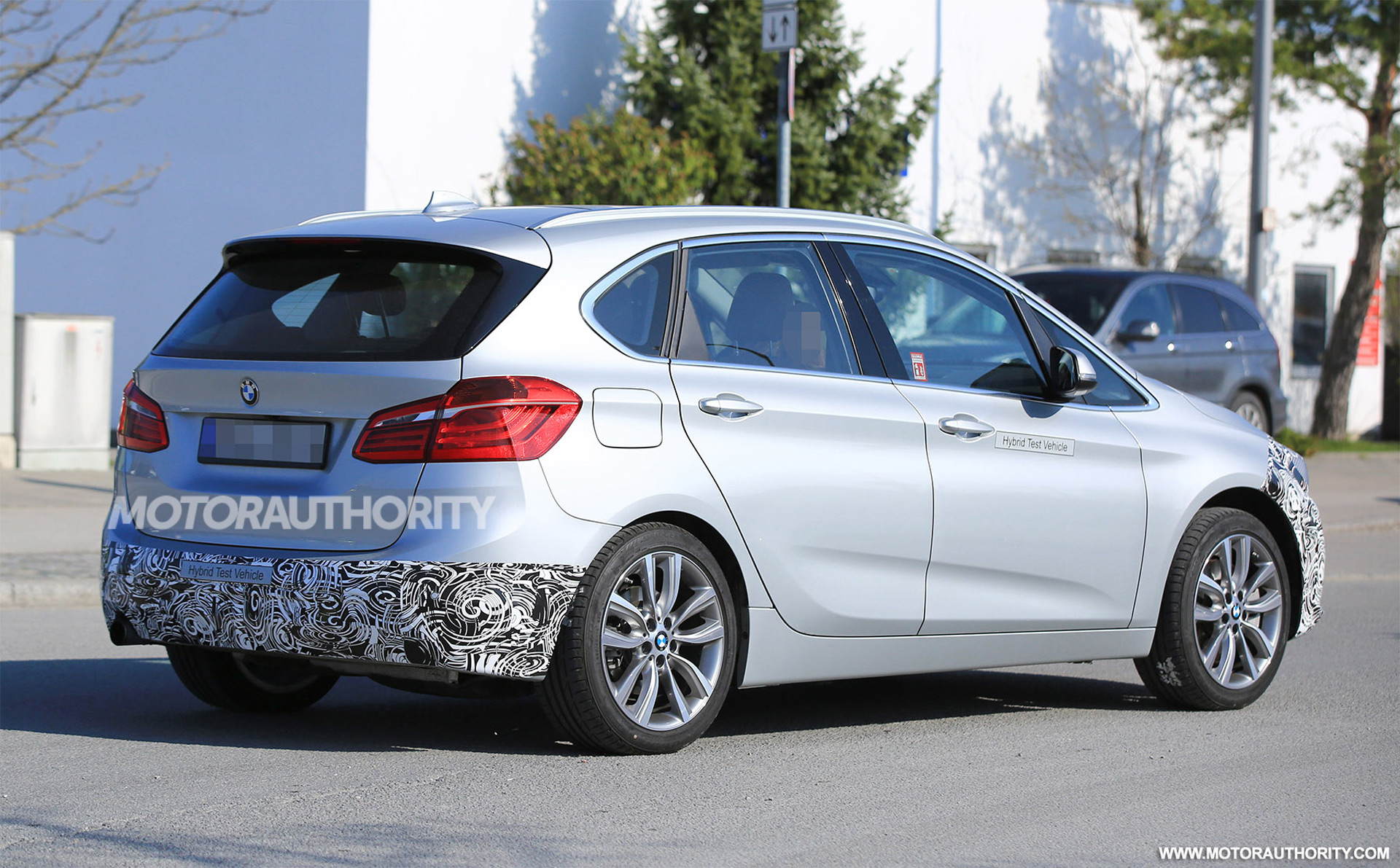 2018 bmw 2 series active tourer spy shots autozaurus. Black Bedroom Furniture Sets. Home Design Ideas