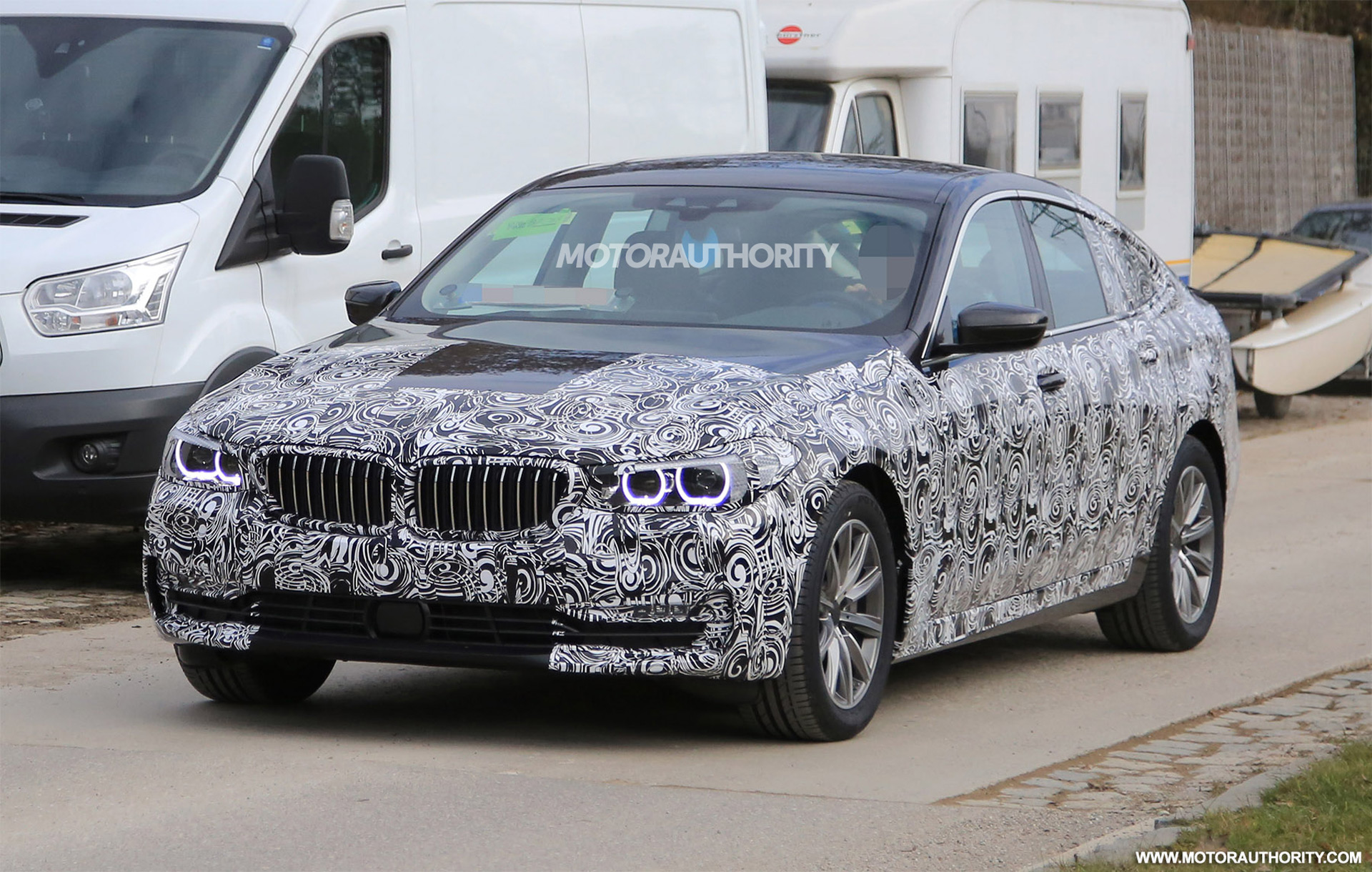 2018 BMW 6-Series GT spy shots: 5-Series GT gets a new name
