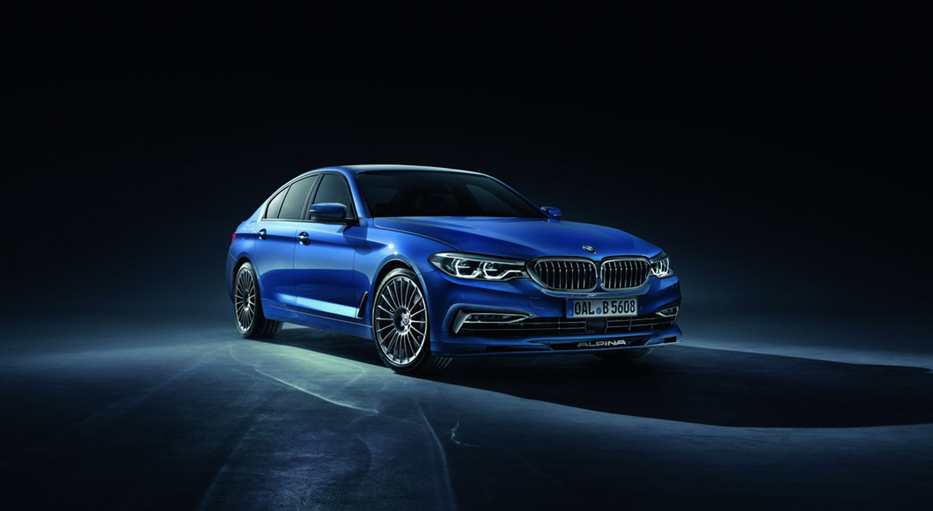 2018 BMW Alpina B5 bows with 600-hp V-8, all-wheel drive