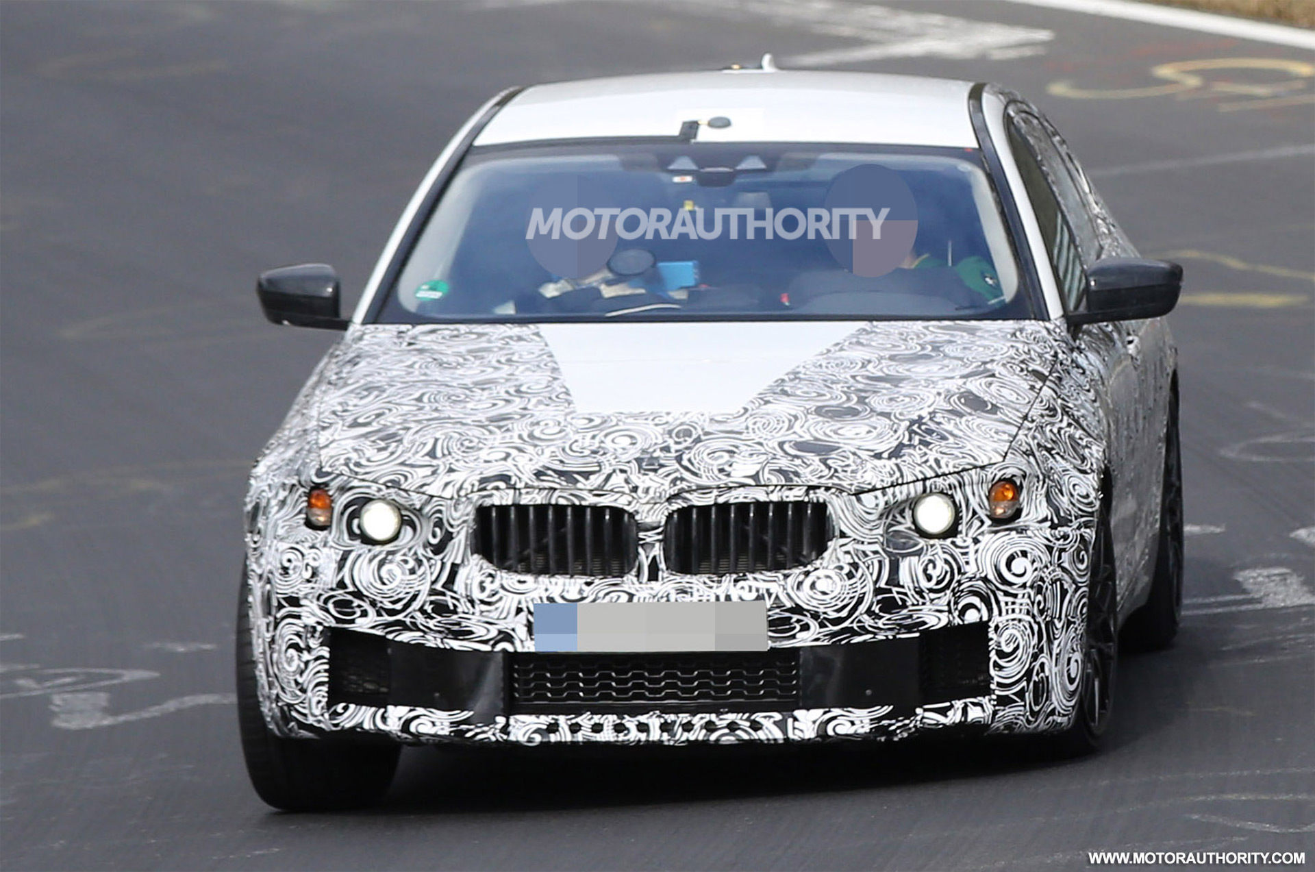 2018 bmw m5 spy video. Black Bedroom Furniture Sets. Home Design Ideas