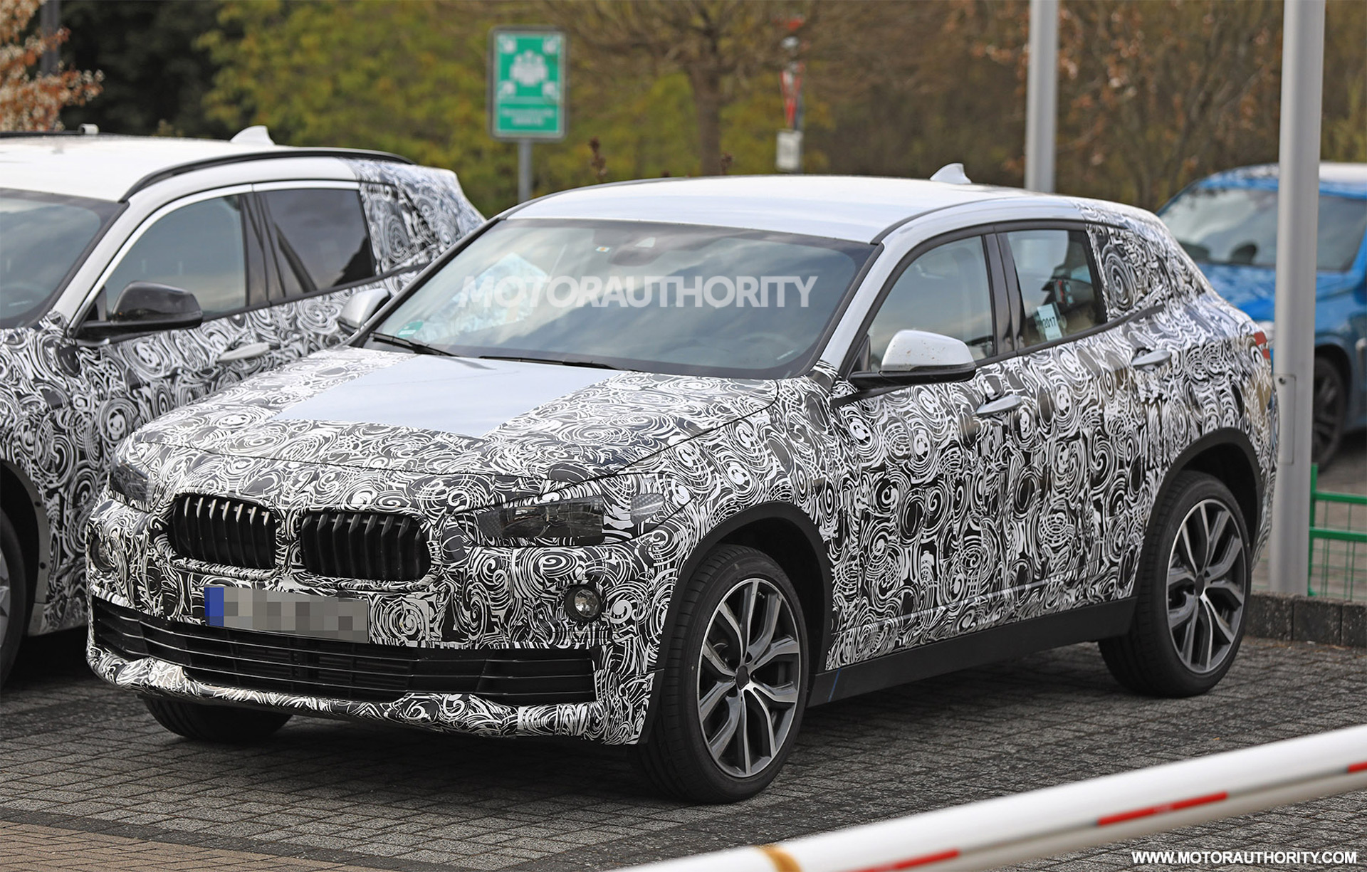 2018 BMW X2 spy shots and video