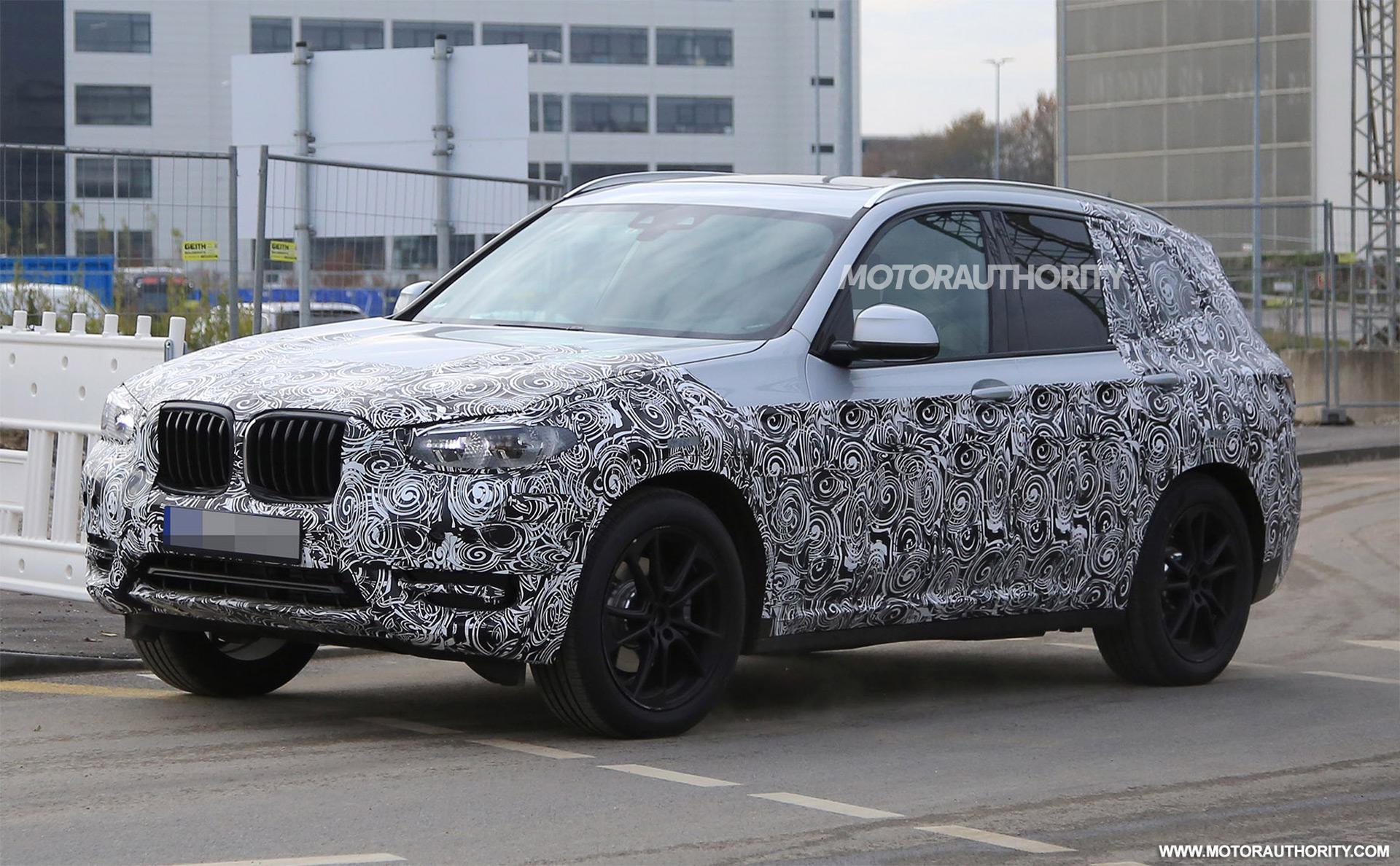 2018 BMW X3 Spy Shots And Video