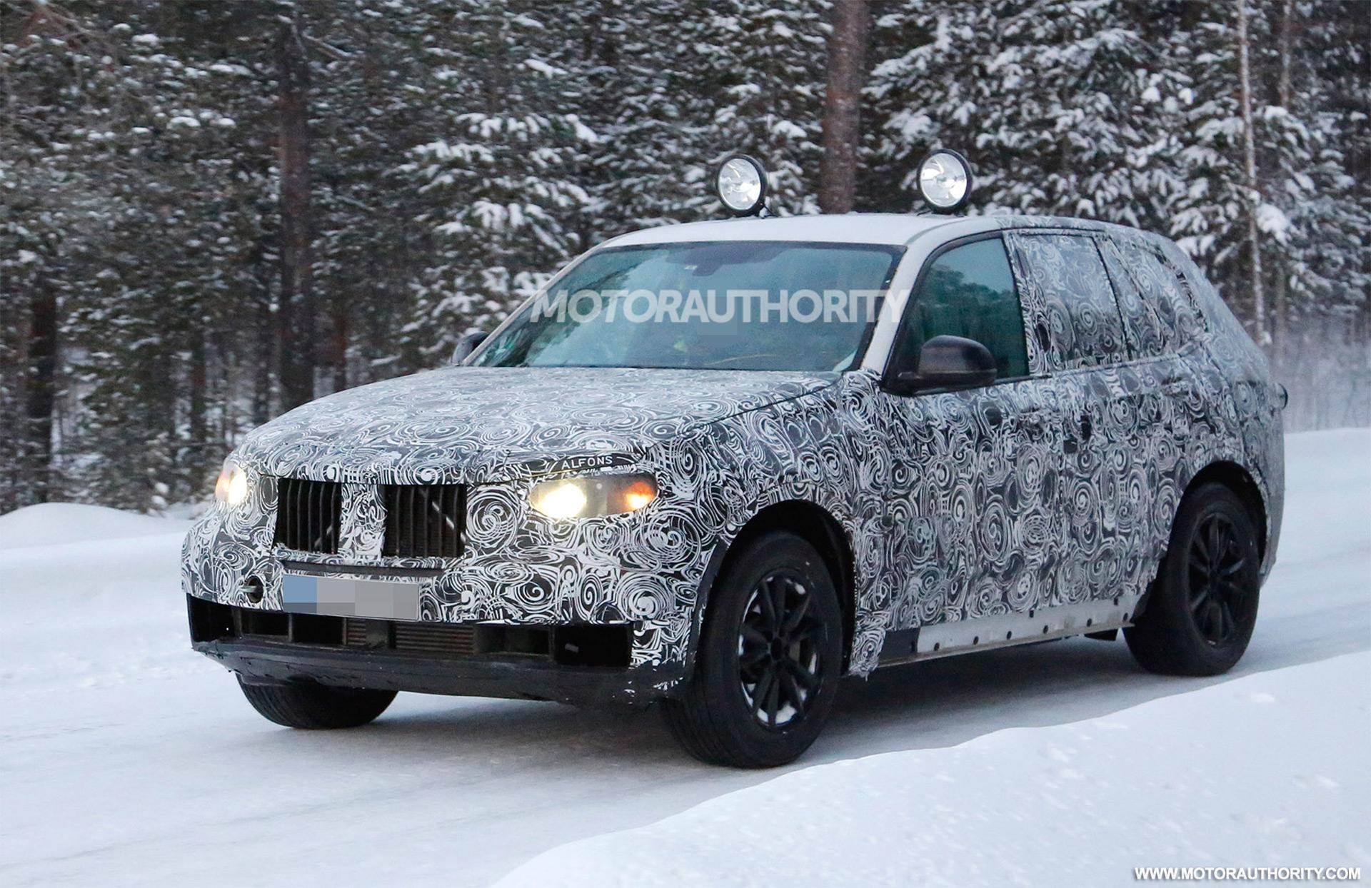 2018 BMW X5 spy shots
