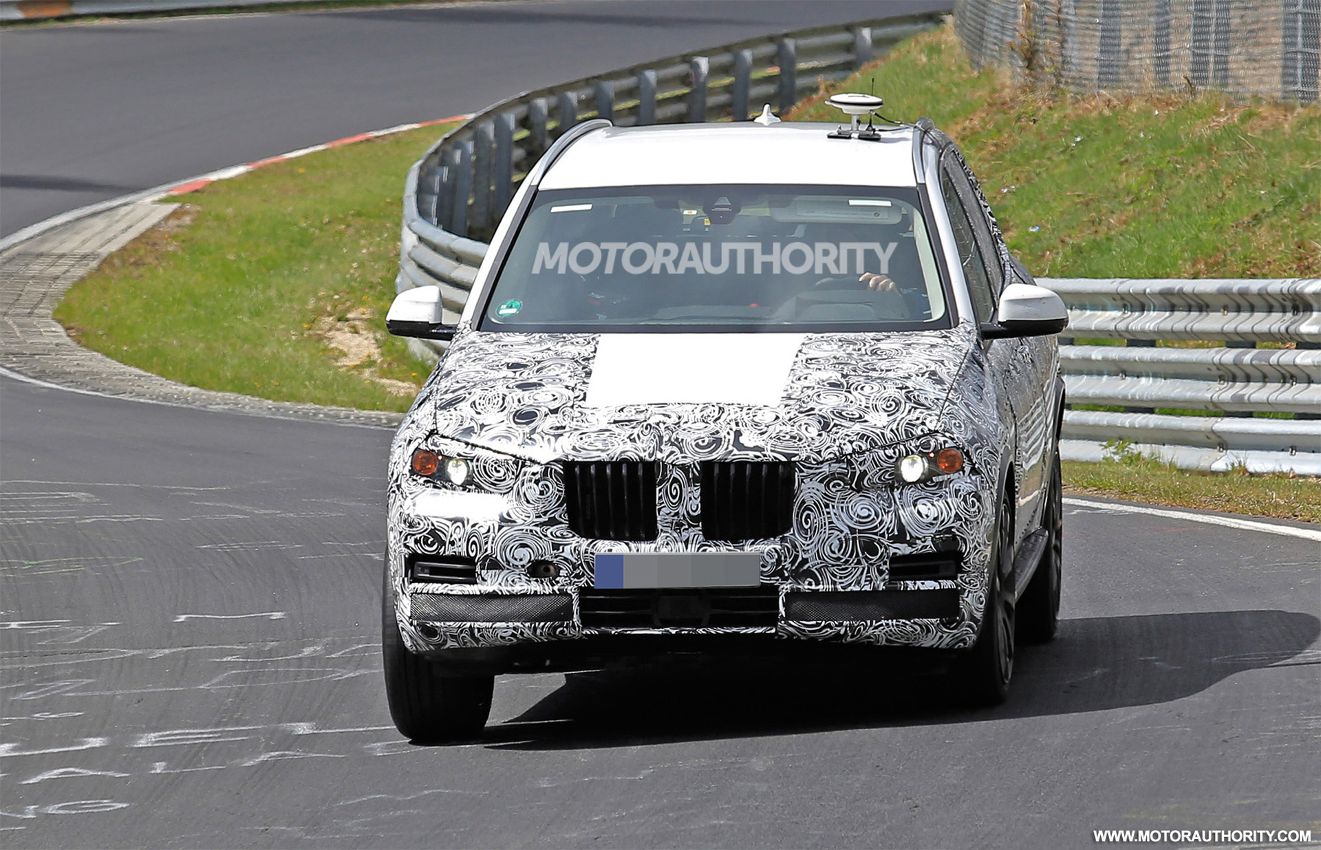 2018 bmw x5 spy shots and video. Black Bedroom Furniture Sets. Home Design Ideas
