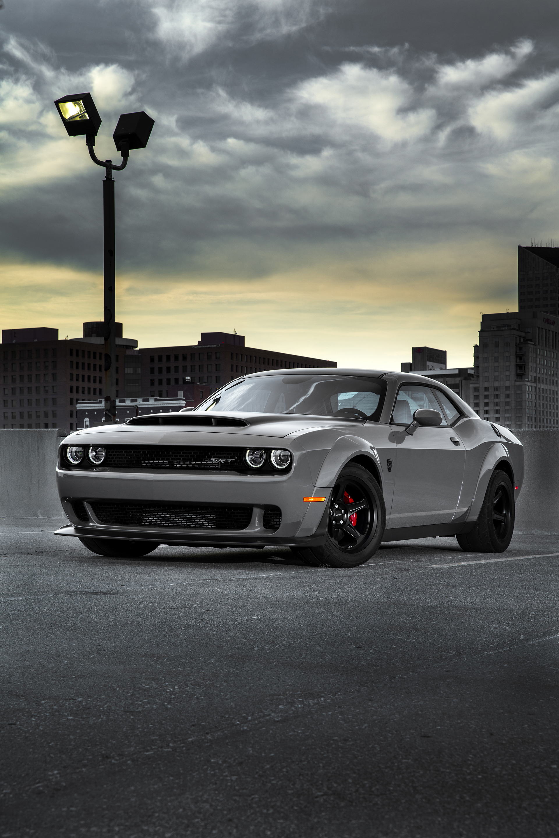 First production 2018 Dodge Challenger SRT Demon rolls off assembly line