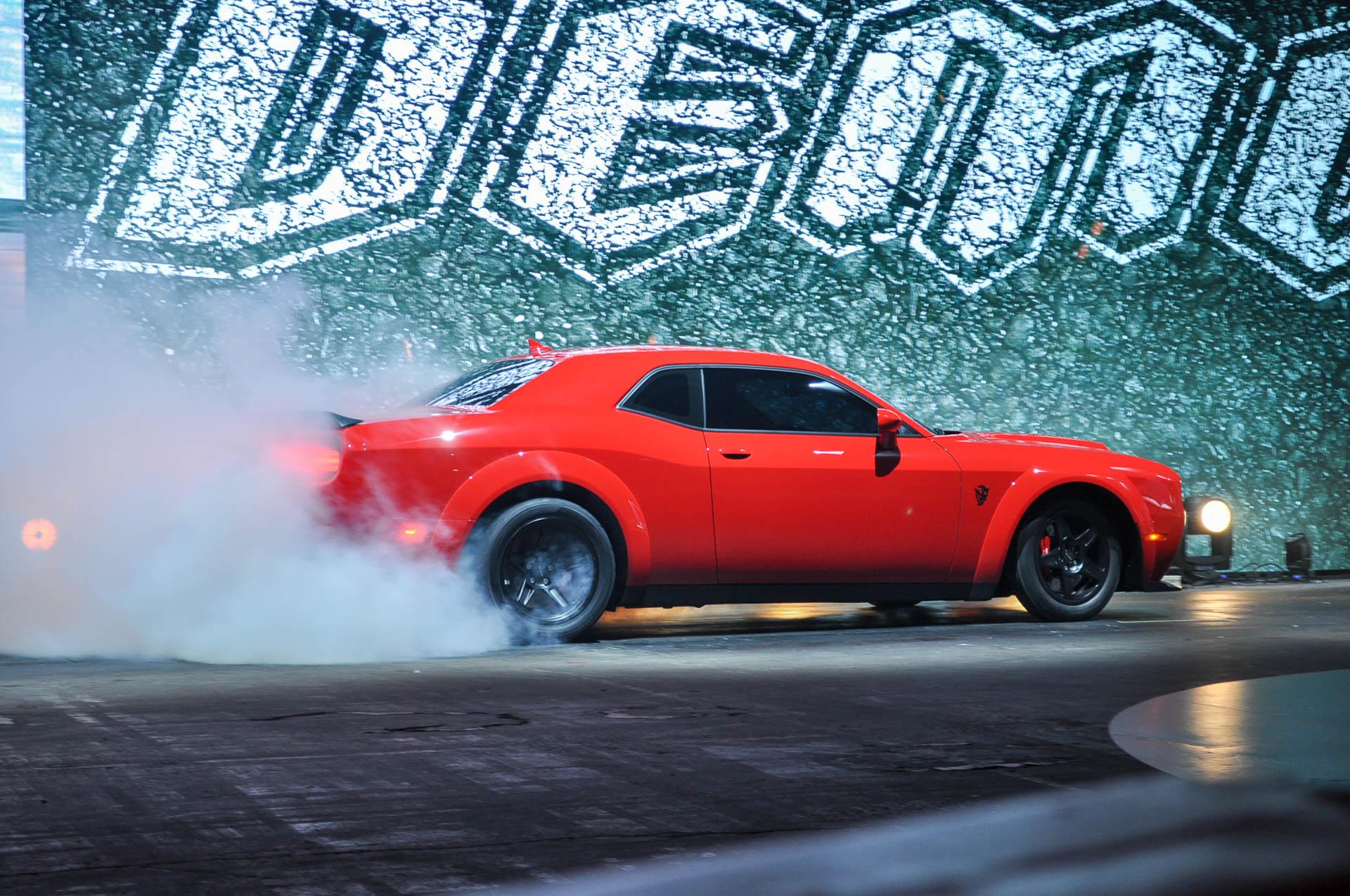 2018 Dodge Demon delivers 840 horsepower, does 0-60 in 2.3 seconds