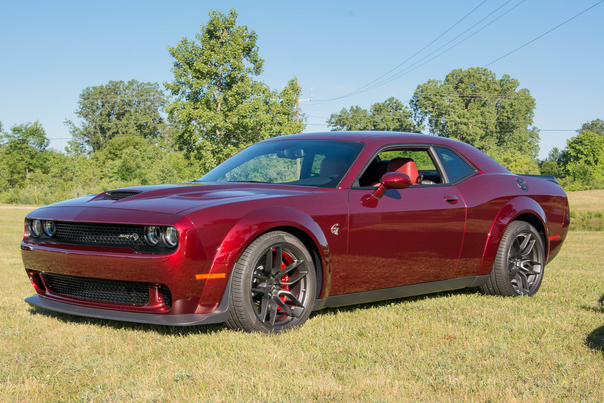 dodge challenger srt hellcat gets demon s wide body look autozaurus. Black Bedroom Furniture Sets. Home Design Ideas