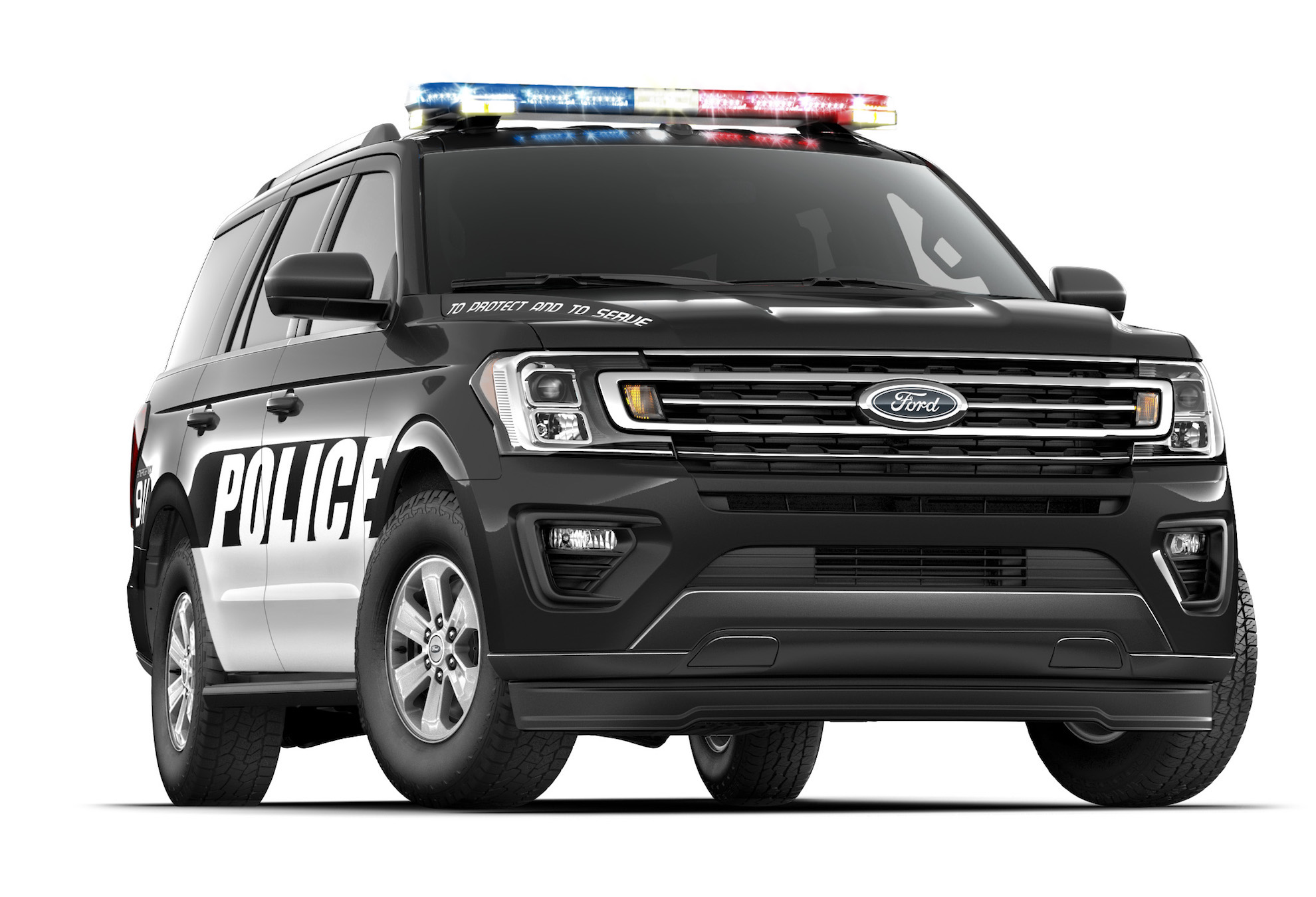 The 2018 Ford Expedition Just Became A Cop Car