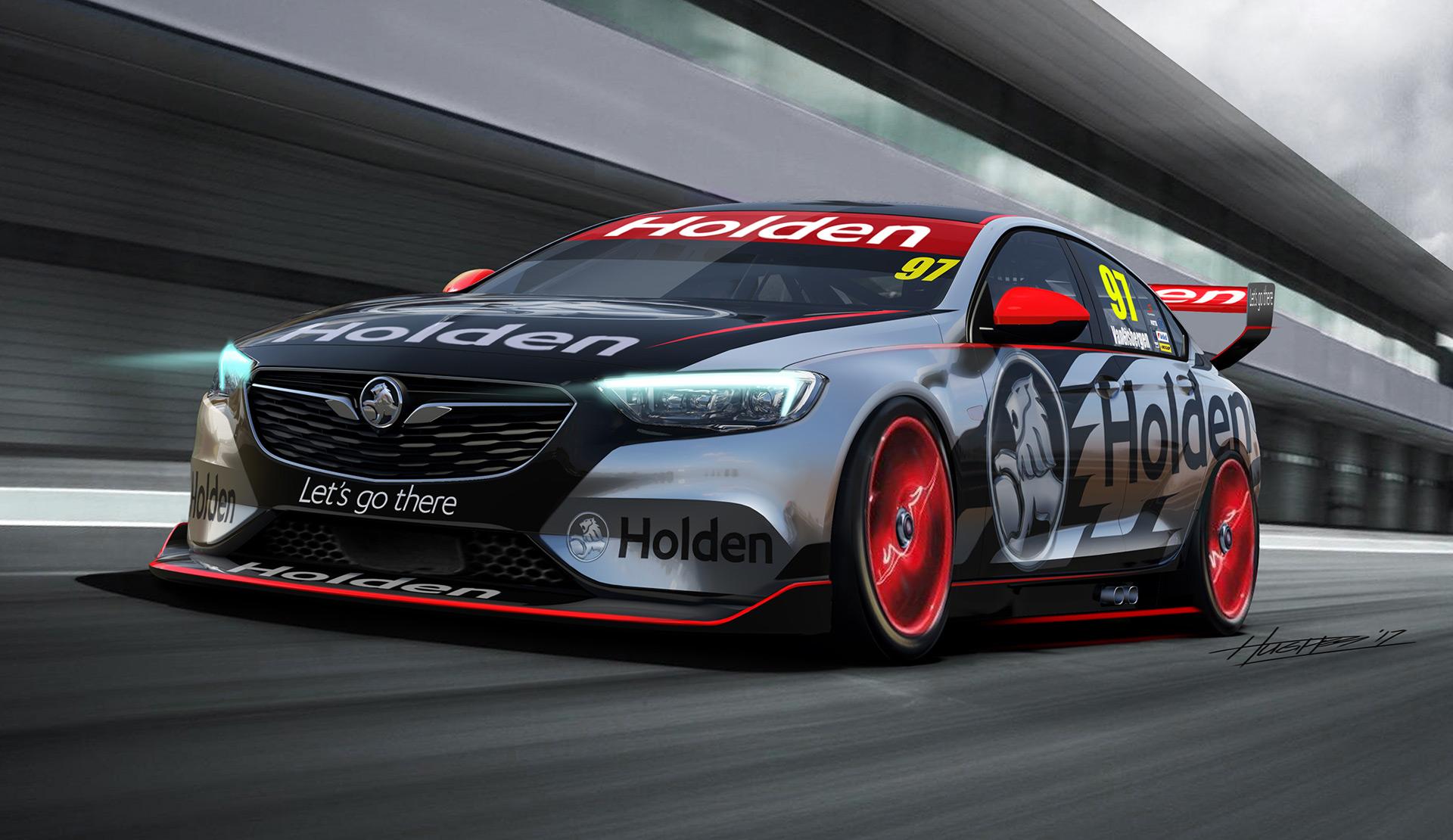 holden commodore racer for australia supercars revealed