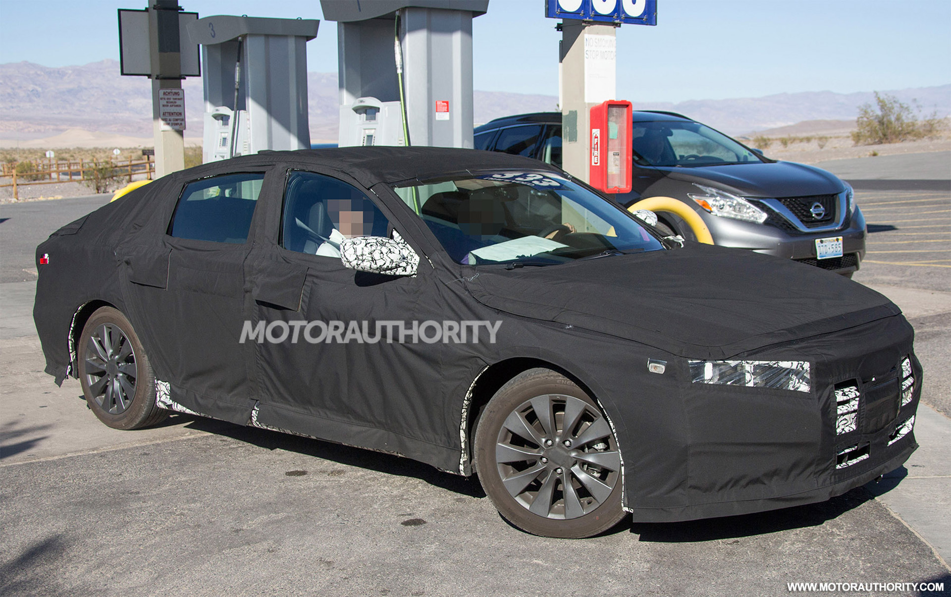 2018 Honda Accord spy shots