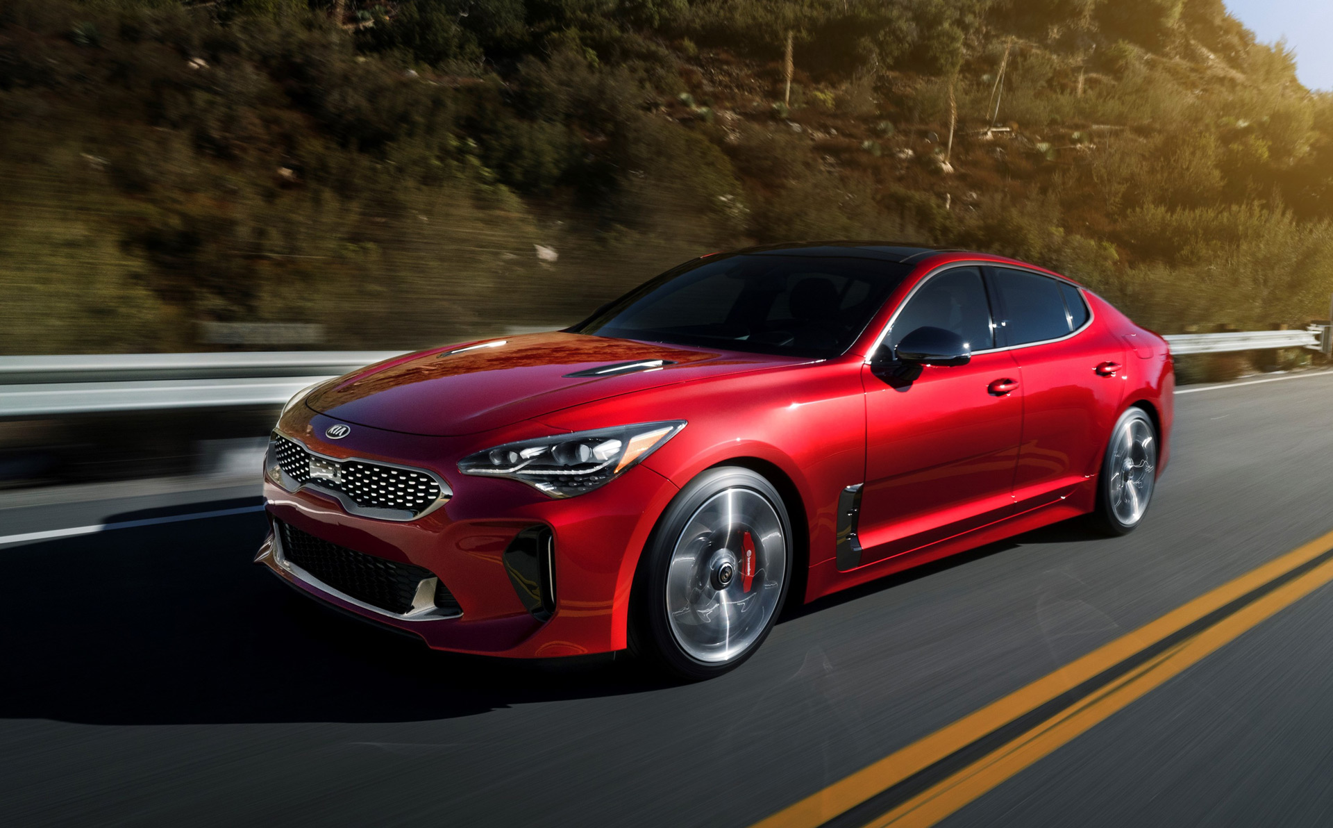 2018 kia stinger review ratings specs prices and photos   the car