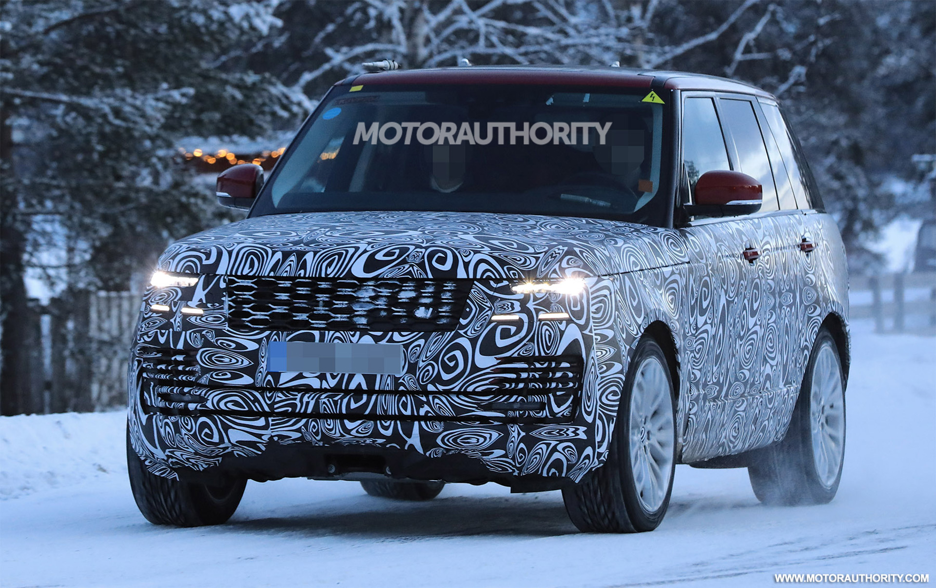2018 land rover facelift. beautiful rover land rover range spy shots on 2018 land rover facelift