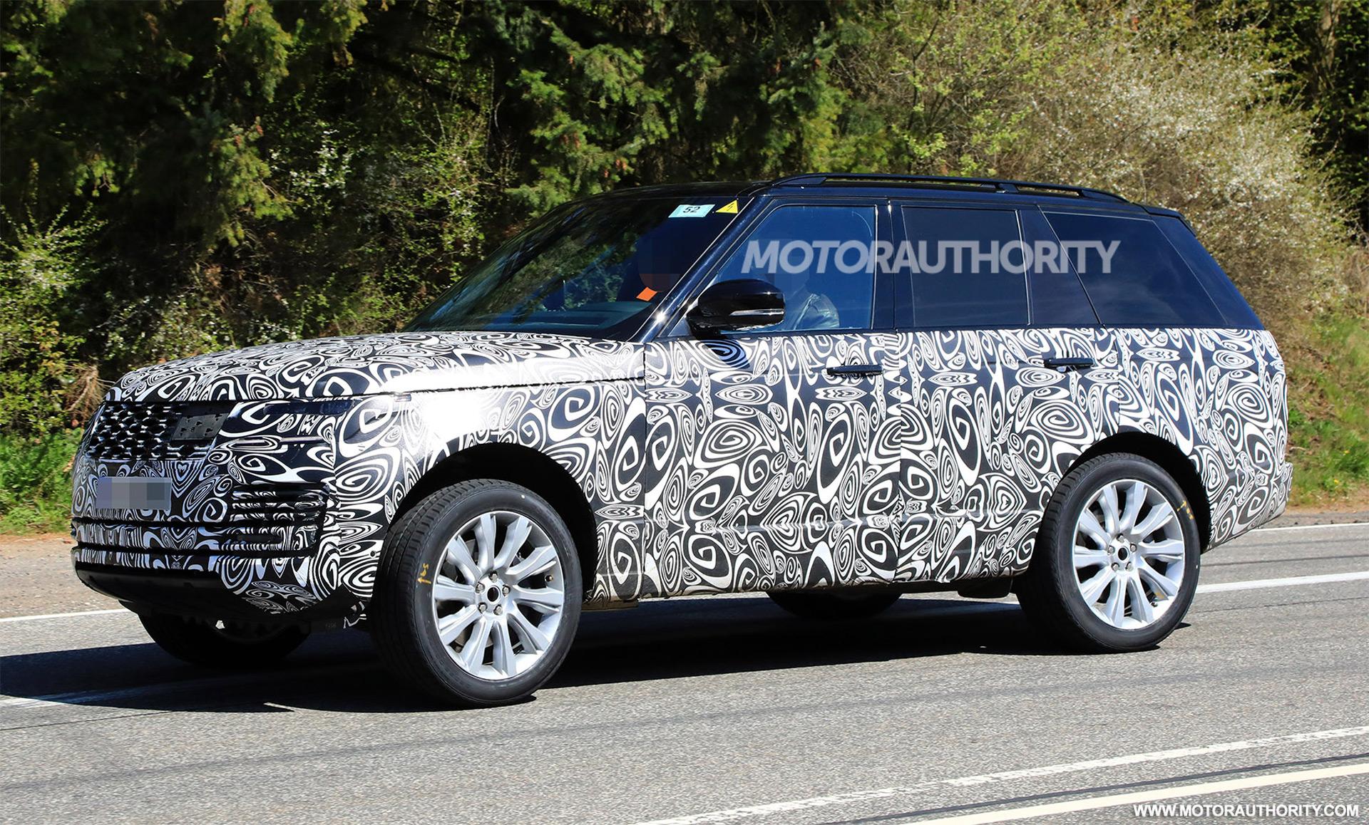 2018 Land Rover Range Rover spy shots