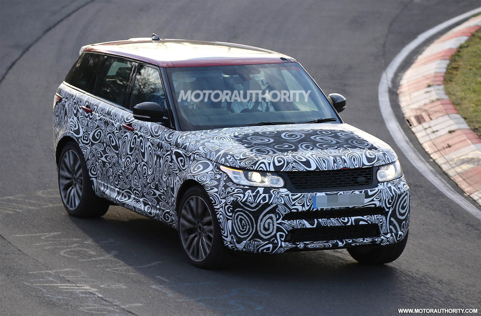 2018 land rover range rover sport svr spy shots. Black Bedroom Furniture Sets. Home Design Ideas