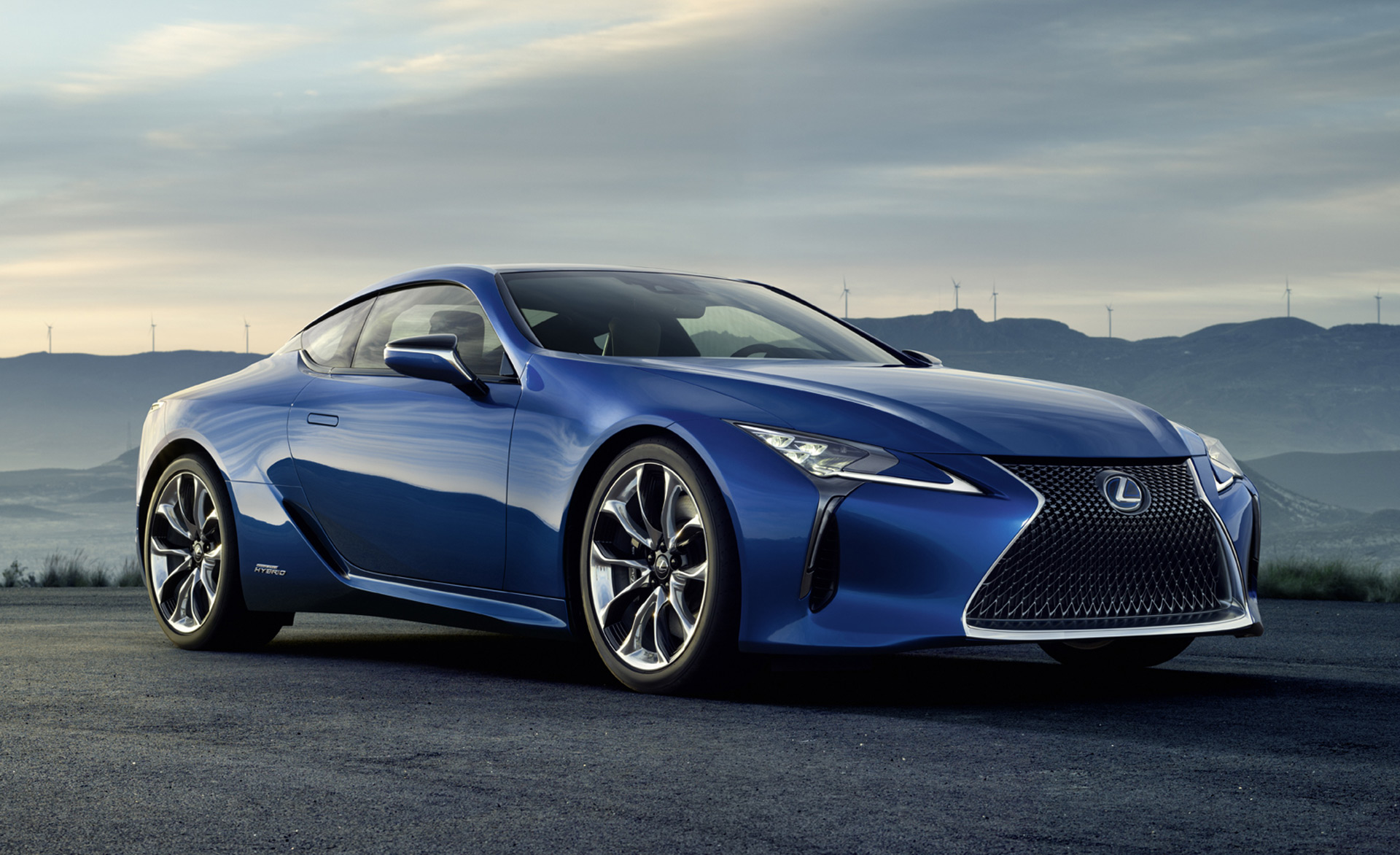2018 Lexus Lc 500h Geneva Debut For Hybrid Performance ...