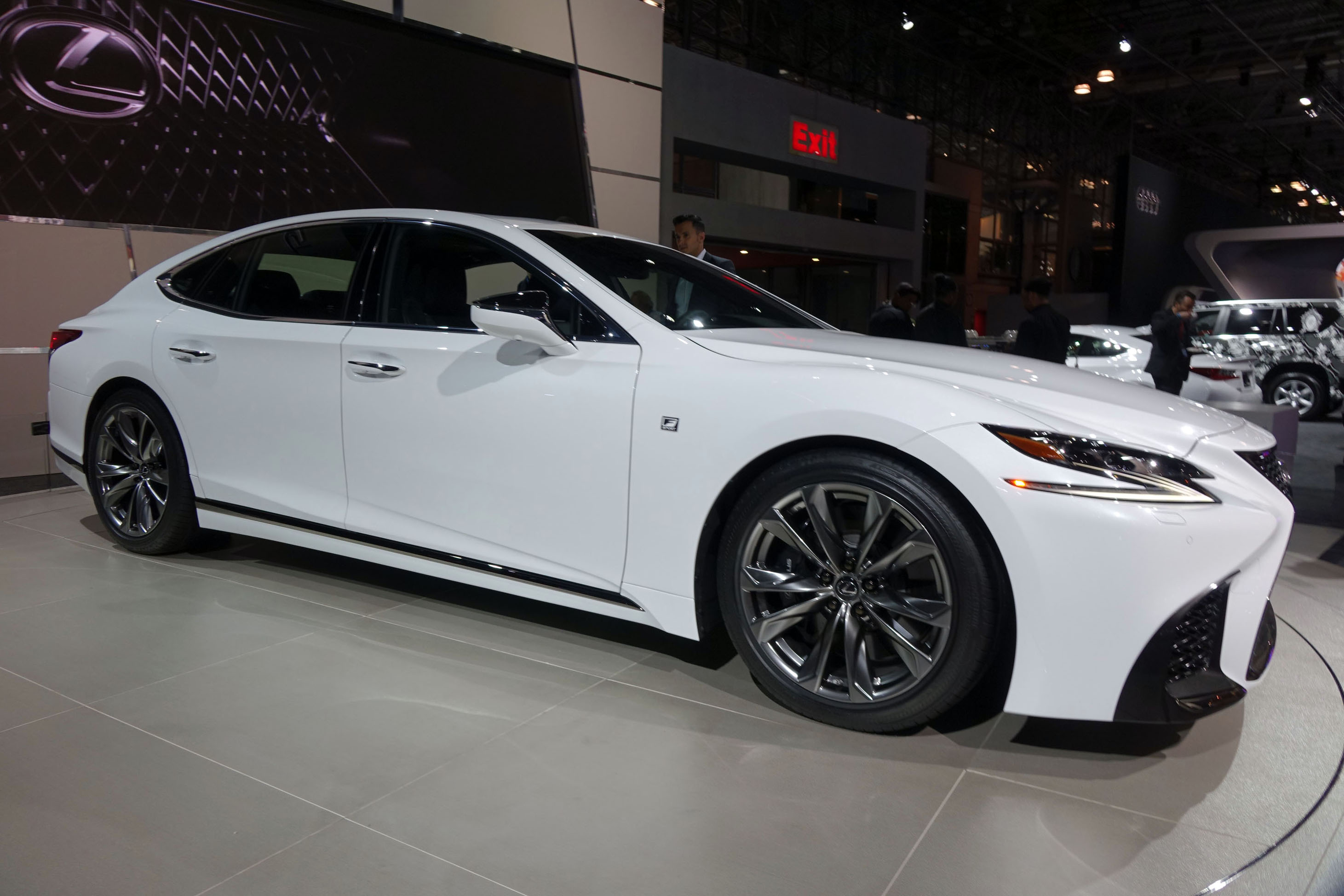 Toyota Most Expensive Car >> 2018 Lexus LS gets F-Sport and handling packages