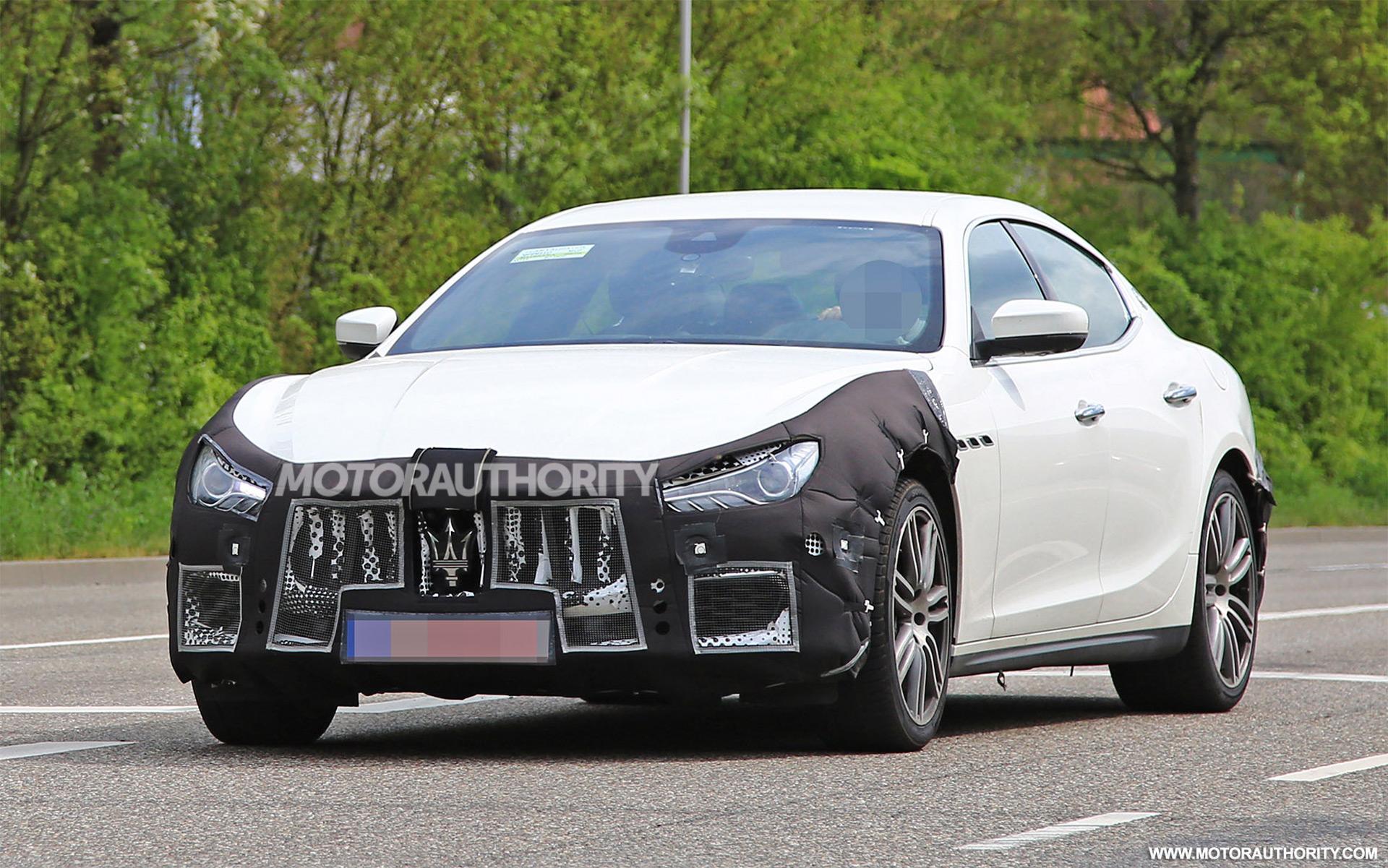 2018 Maserati Ghibli Spy Shots