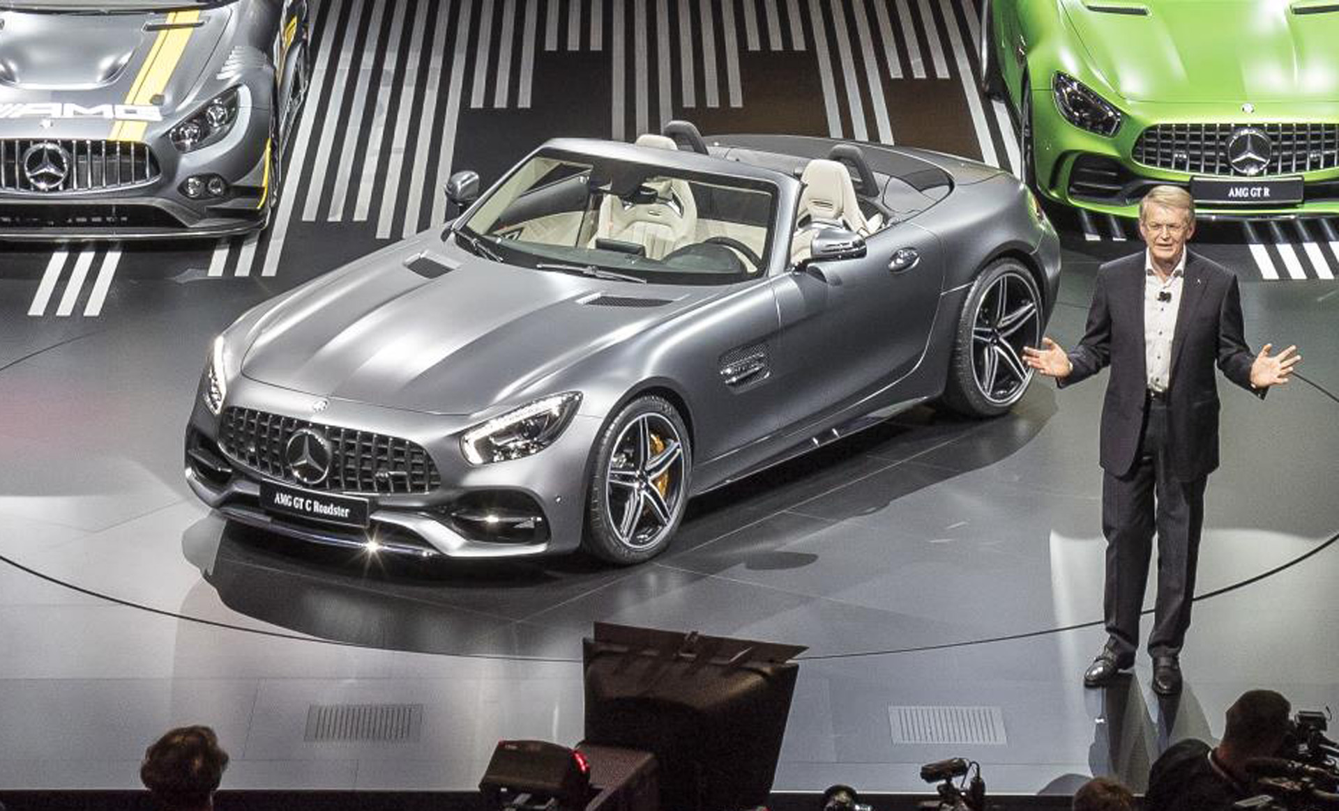 2018 mercedes amg gt roadster gets paris auto show debut - Paris motor show ...