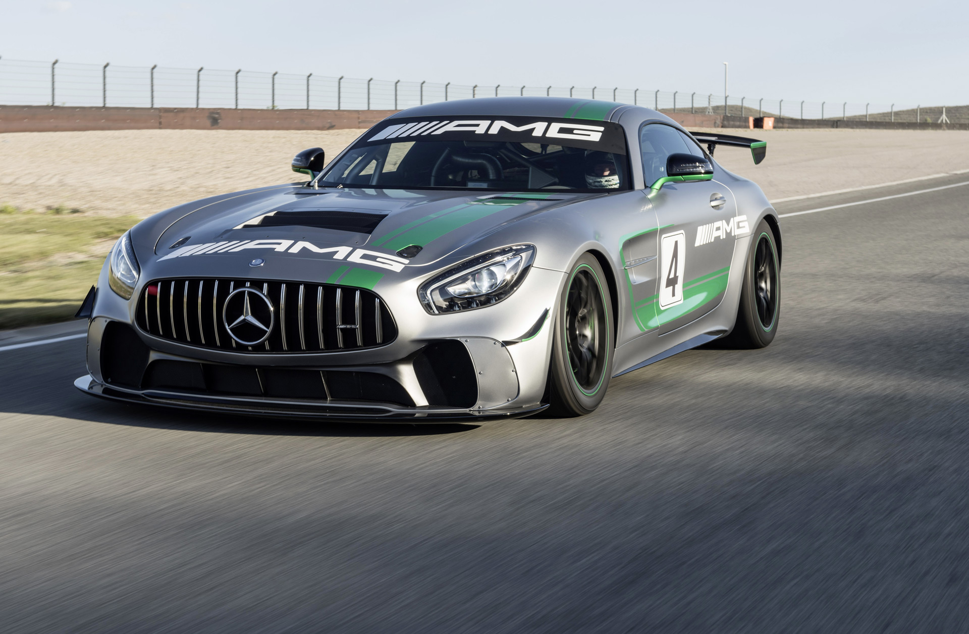 Mercedes Amg Reveals Gt4 Race Car