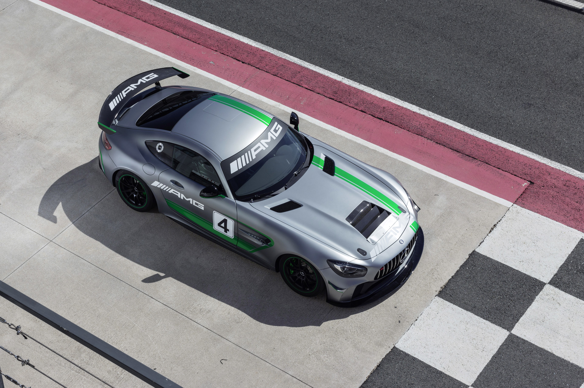 Mercedes Amg Reveals Race Car Autozaurus