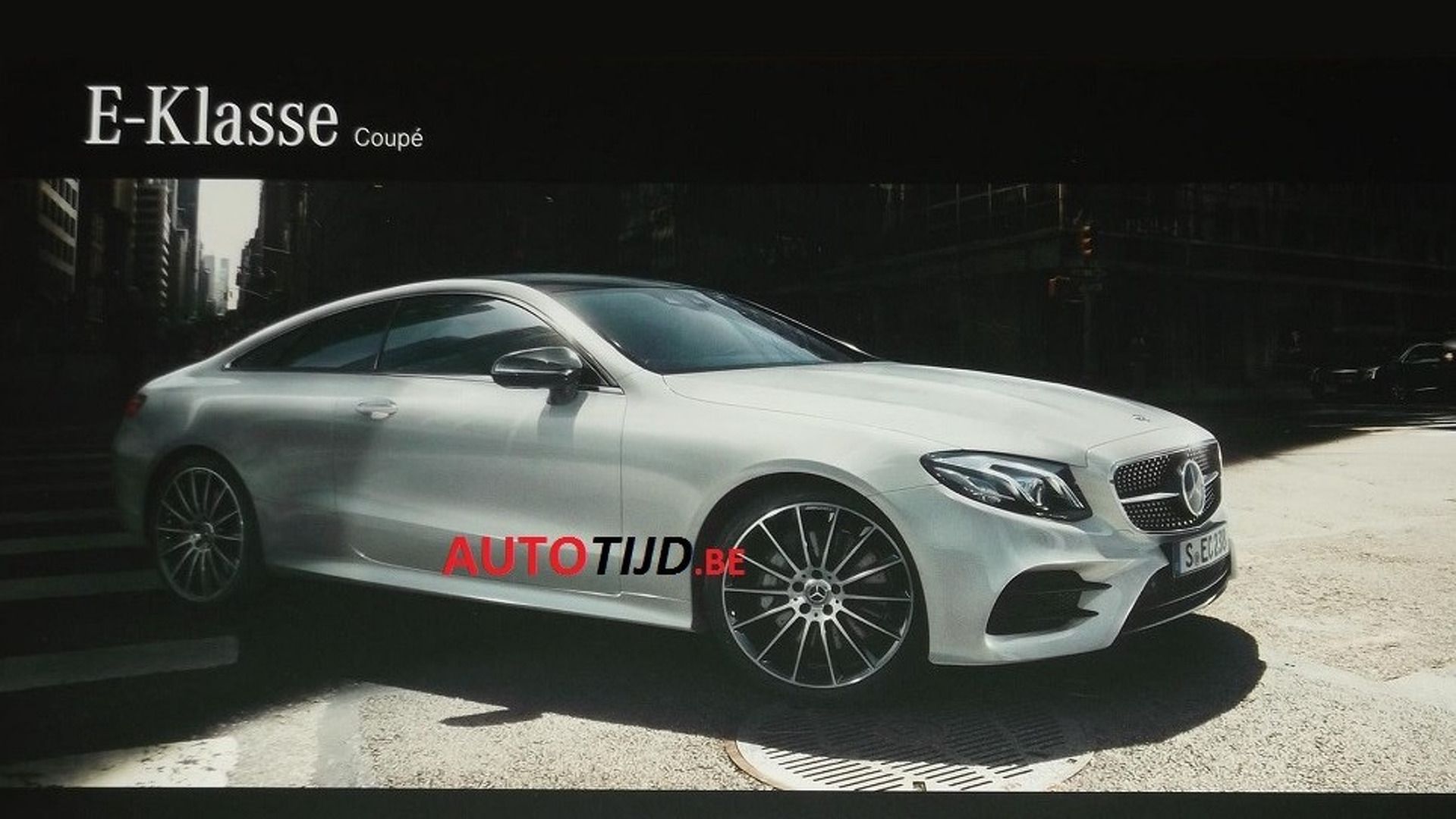 2018 mercedes-benz e-class coupe leaked ahead of december 14 reveal