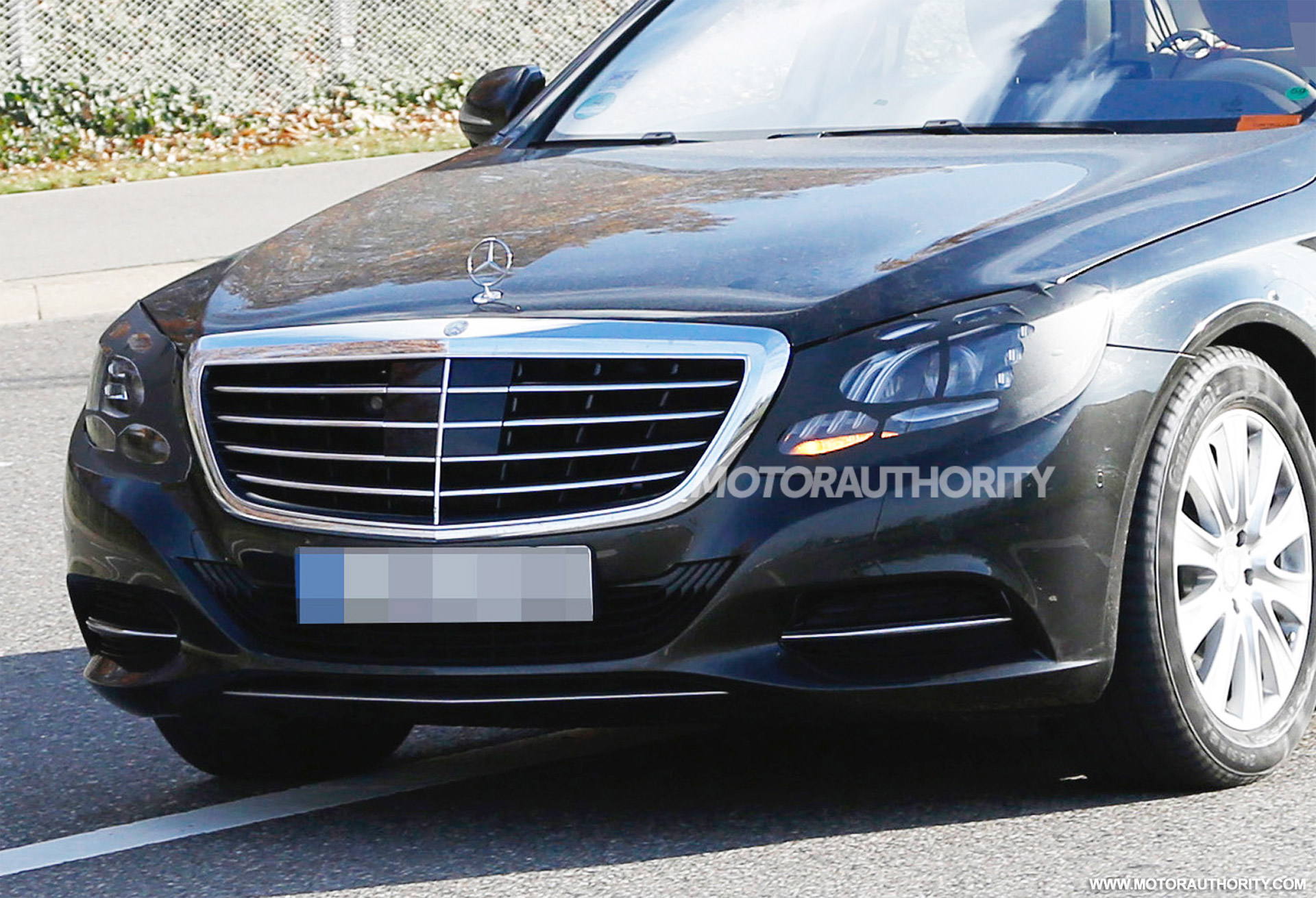 2018 mercedes benz s class spy shots for 2018 mercedes benz s550