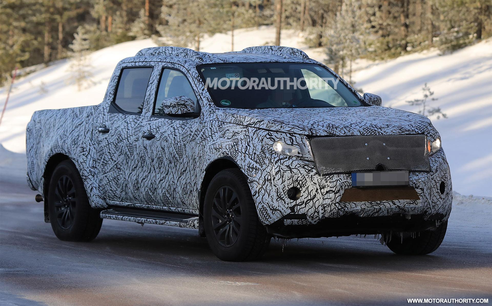 Mercedes-Benz X-Class spy shots | Autozaurus