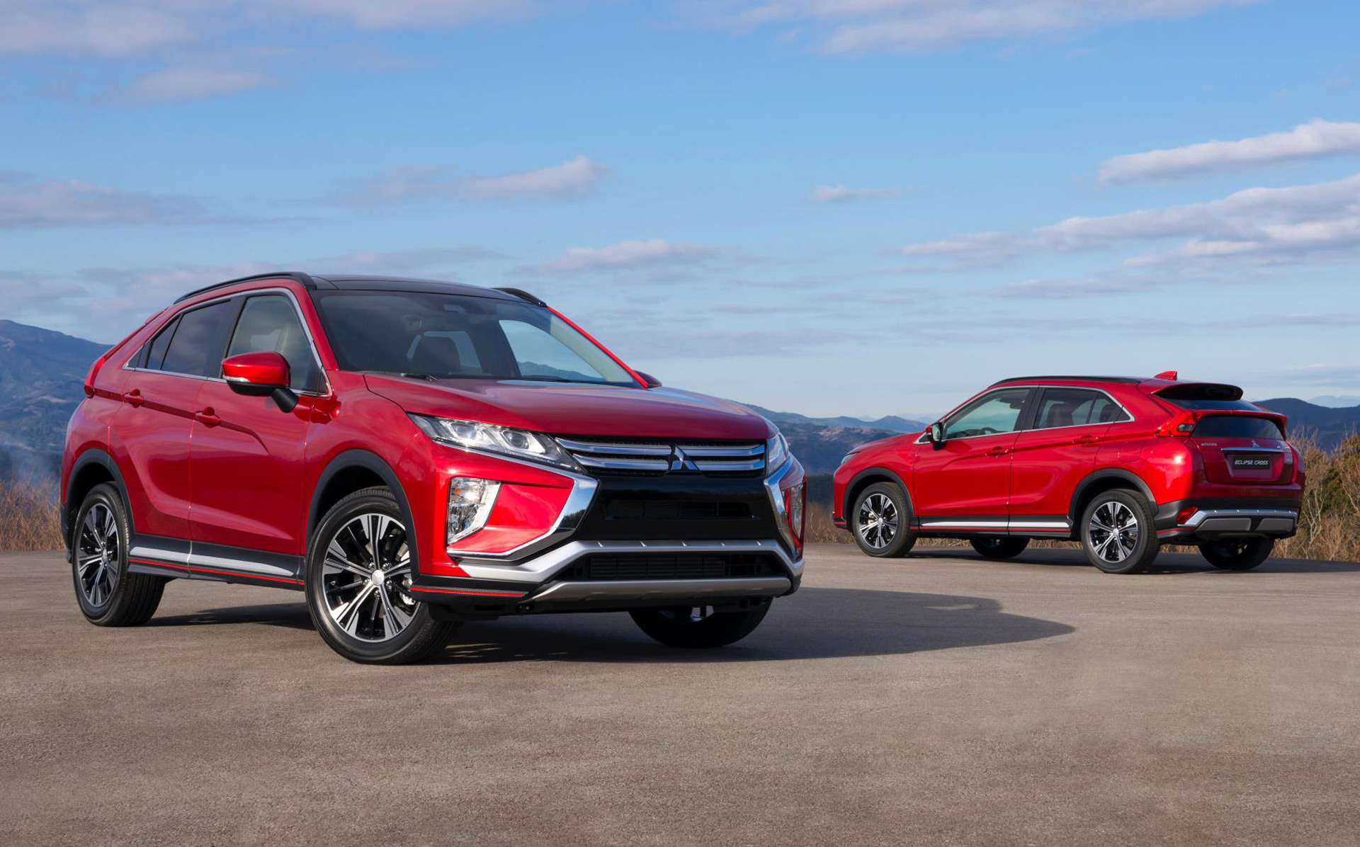2018 mitsubishi eclipse cross revealed ahead of geneva debut. Black Bedroom Furniture Sets. Home Design Ideas